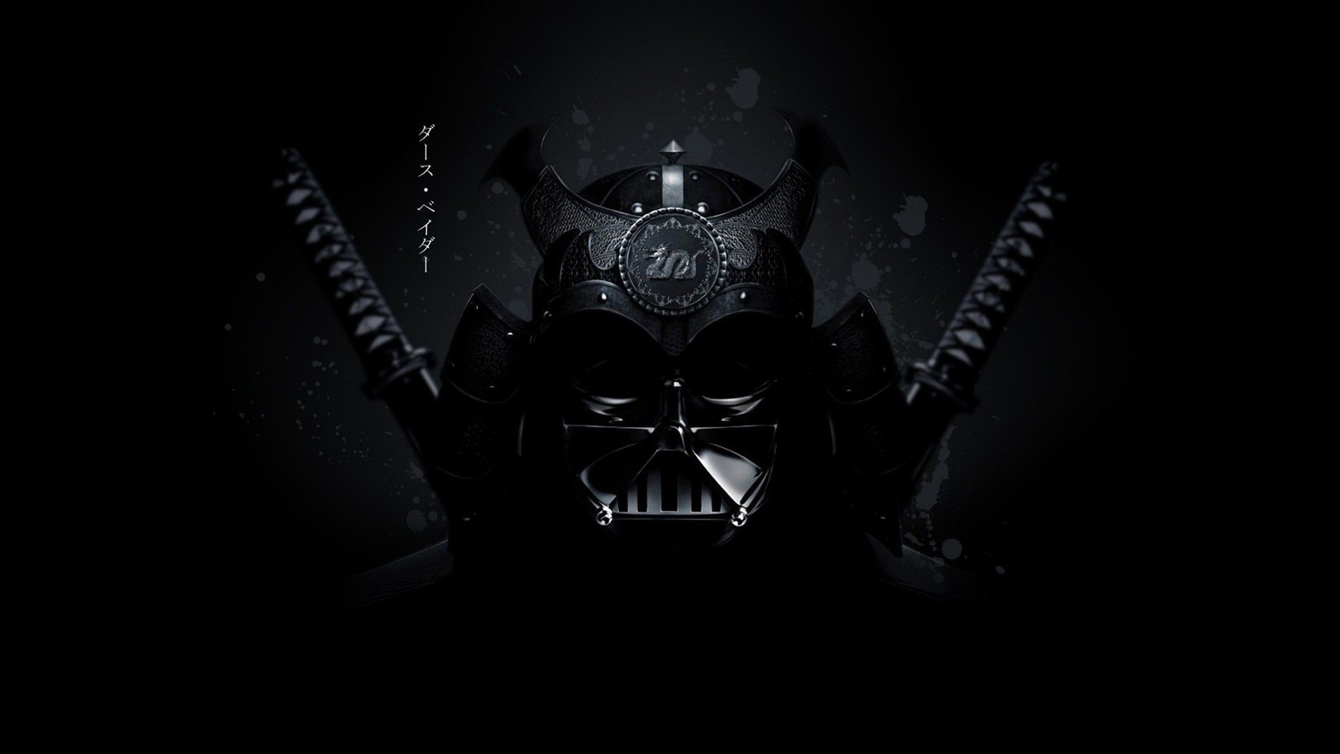 Res: 1920x1080, Wallpapers Darth Vader Render Samurai Star Wars Hd