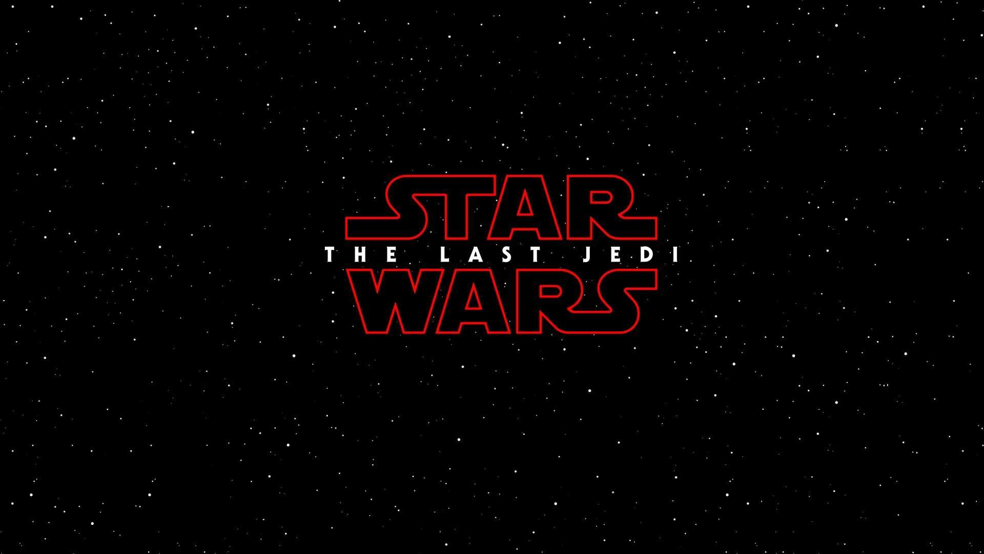 Res: 1920x1080, Backgrounds For Hd Star Wars The Last Jedi Movie Logo Wallpaper Pics  Computer