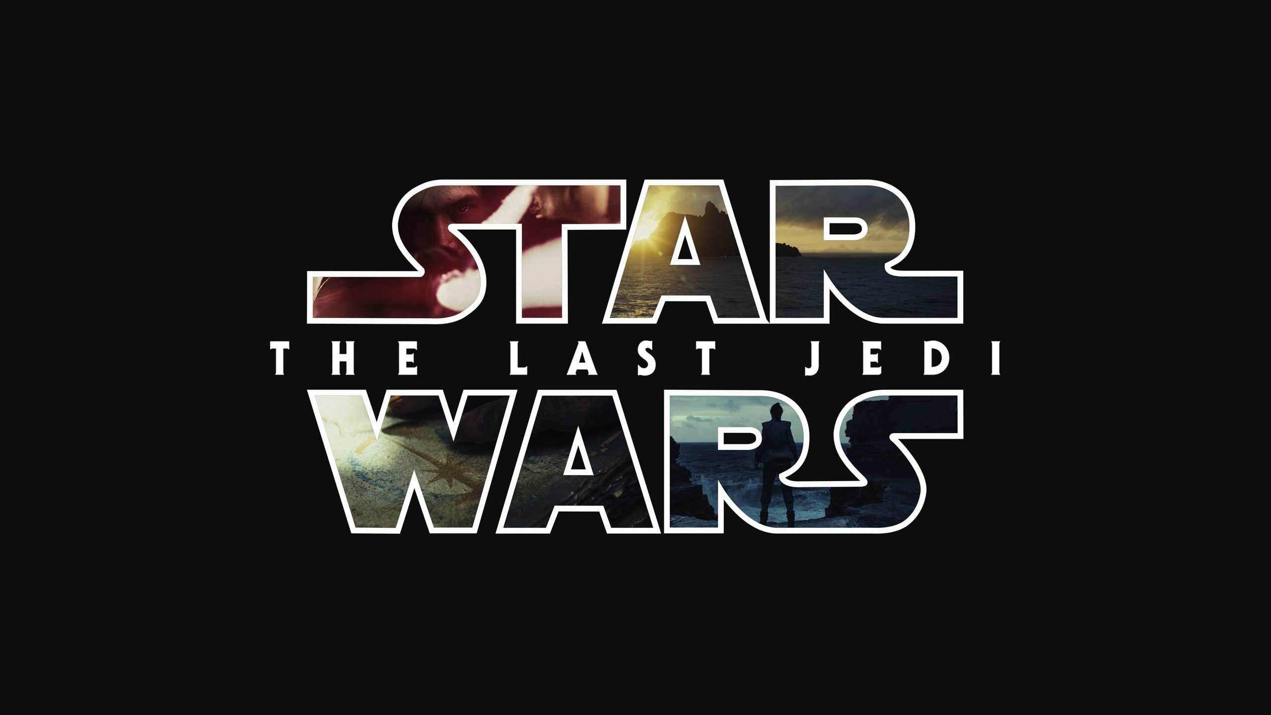 Res: 2560x1440, 4k Star Wars The Last Jedi Logo 2017 Movie, Movie Posters, Star Wars The