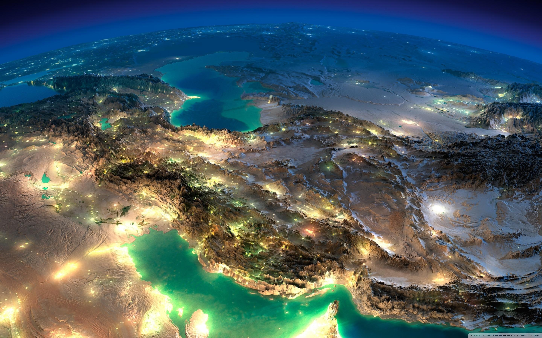 Res: 2880x1800, Very Nice Satellite Images Of Iran HD Wide Wallpaper for 4K UHD Widescreen  desktop & smartphone