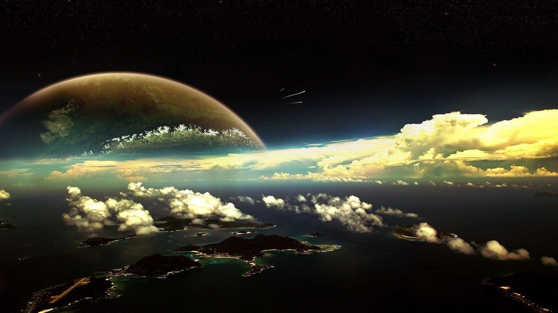 Res: 1920x1080, Fantasy Planet Wallpaper Wide or HD | Fantasy Wallpapers