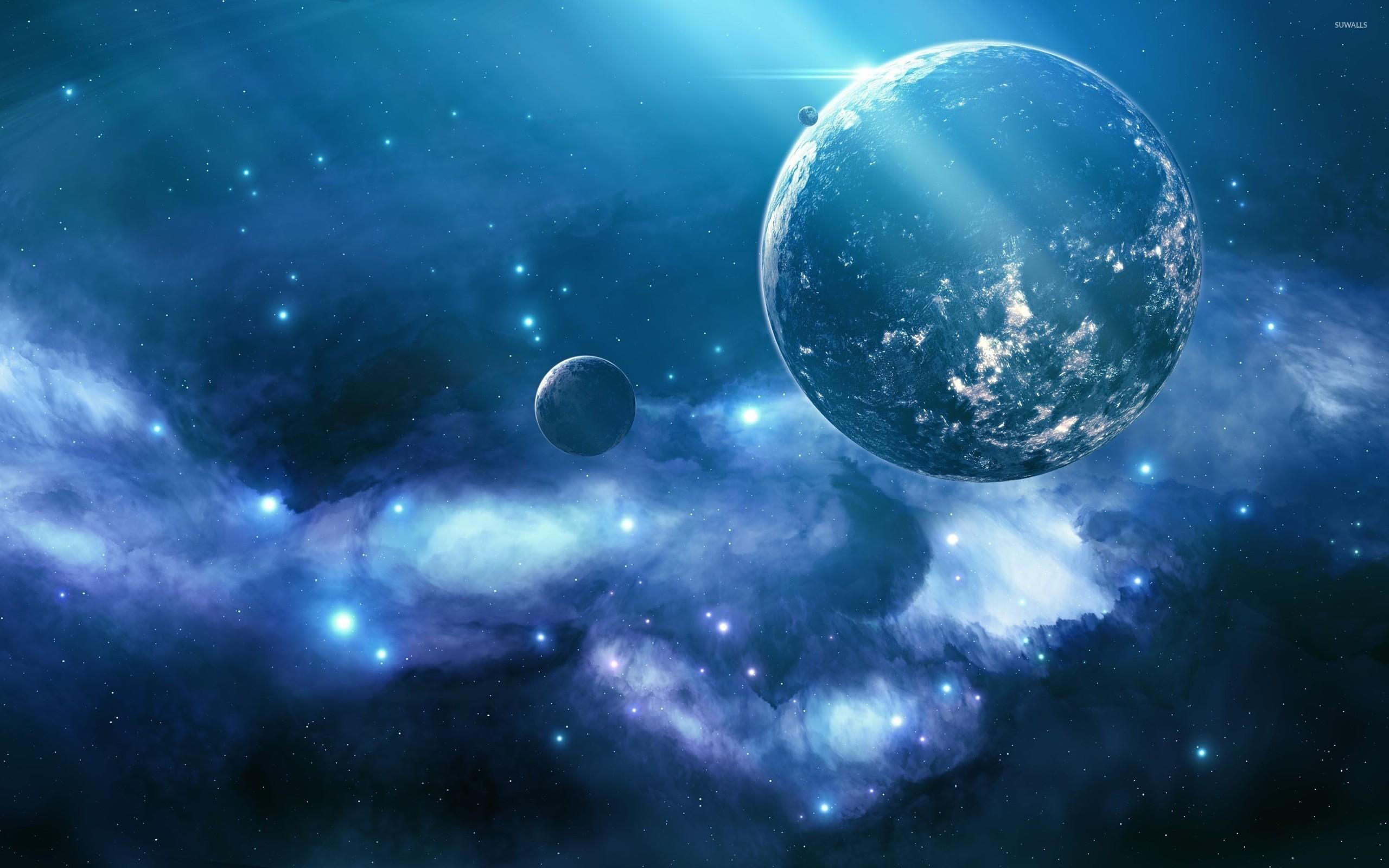 Res: 2560x1600, Planets wallpaper