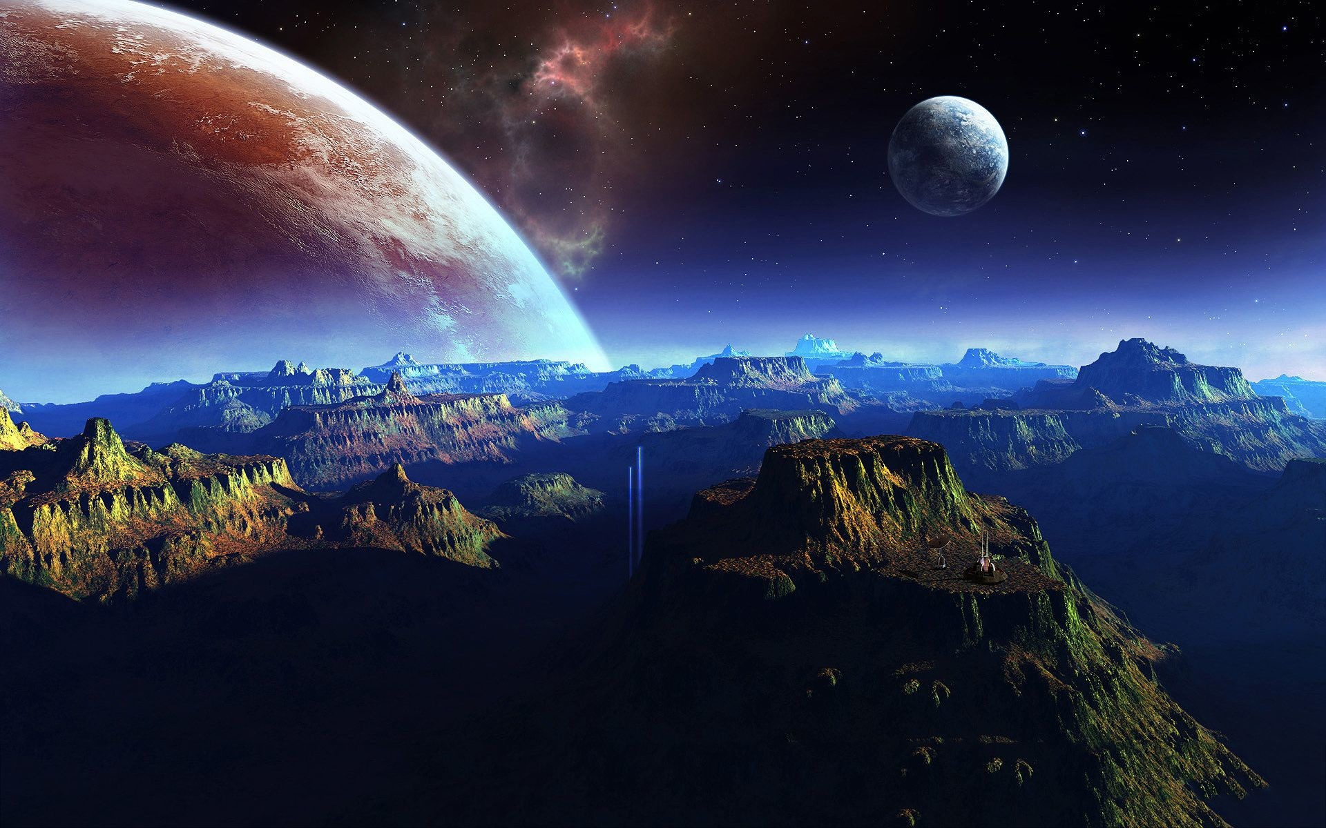Res: 1920x1200, fantasy | Fantasy planet space art Wallpapers Pictures Photos Images
