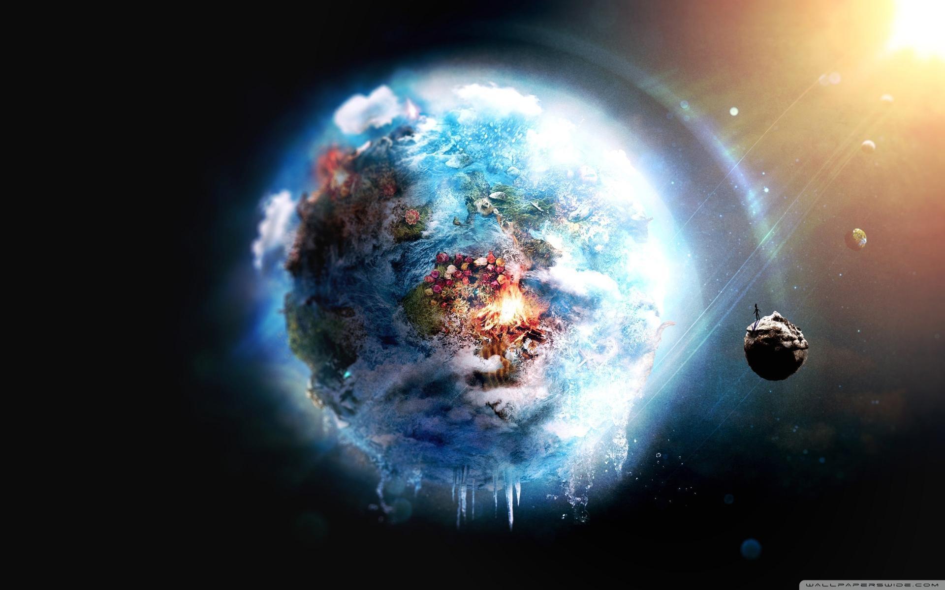 Res: 1920x1200, Wallpaper fantasy planet
