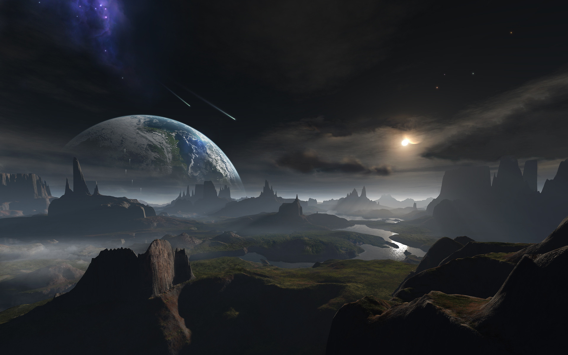 Res: 1920x1200, Fantasy planet space art Wallpapers Pictures Photos Images | space |  Pinterest | Wallpaper and Fantasy art