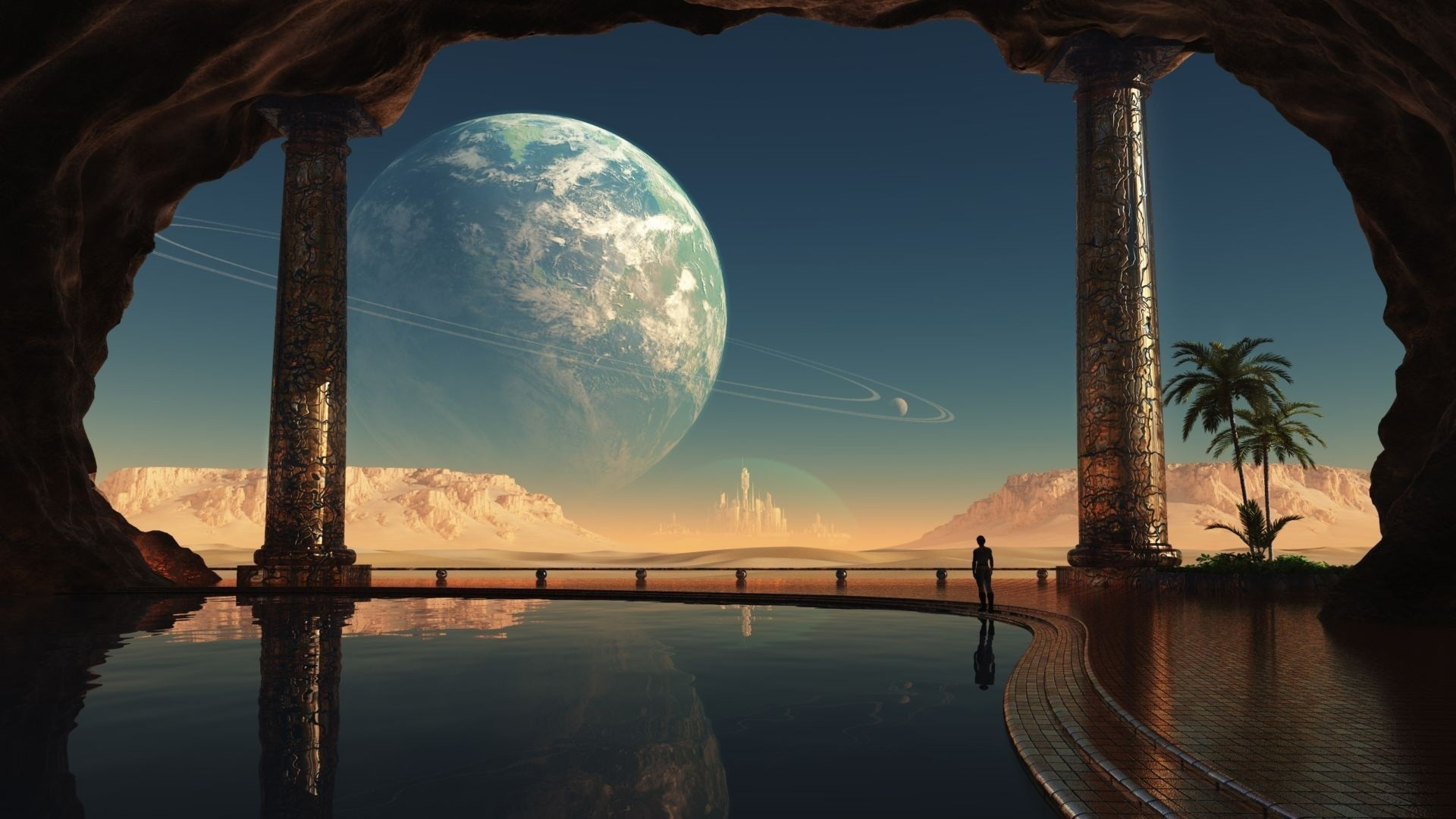 Res: 1920x1080, Fantasy Planets Wallpaper  Fantasy Planets