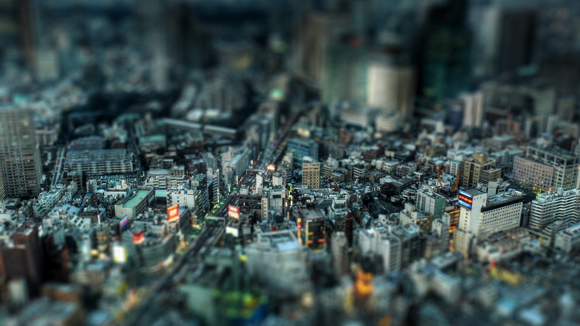 Res: 1920x1080, Download Top View Busy Crowded City 3D Wallpaper #3595 - HD .