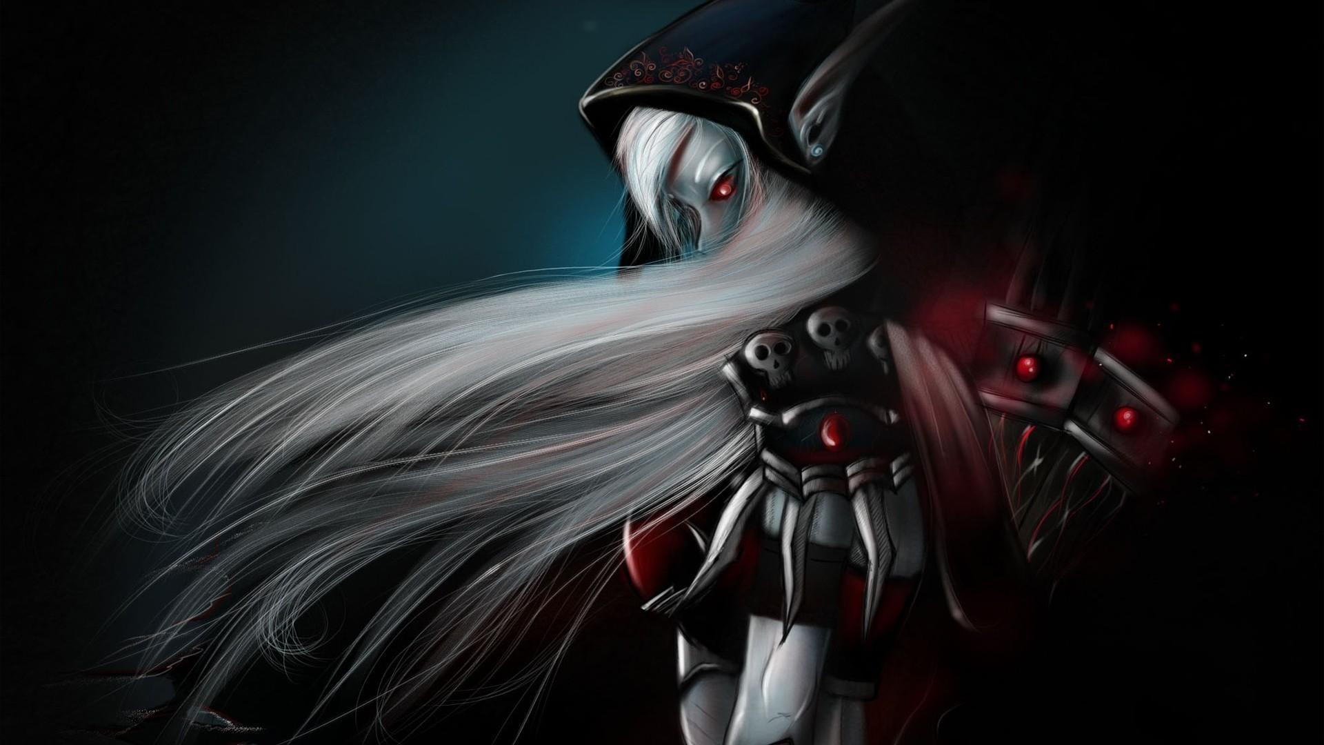Res: 1920x1080, girl, elfeyka, demon