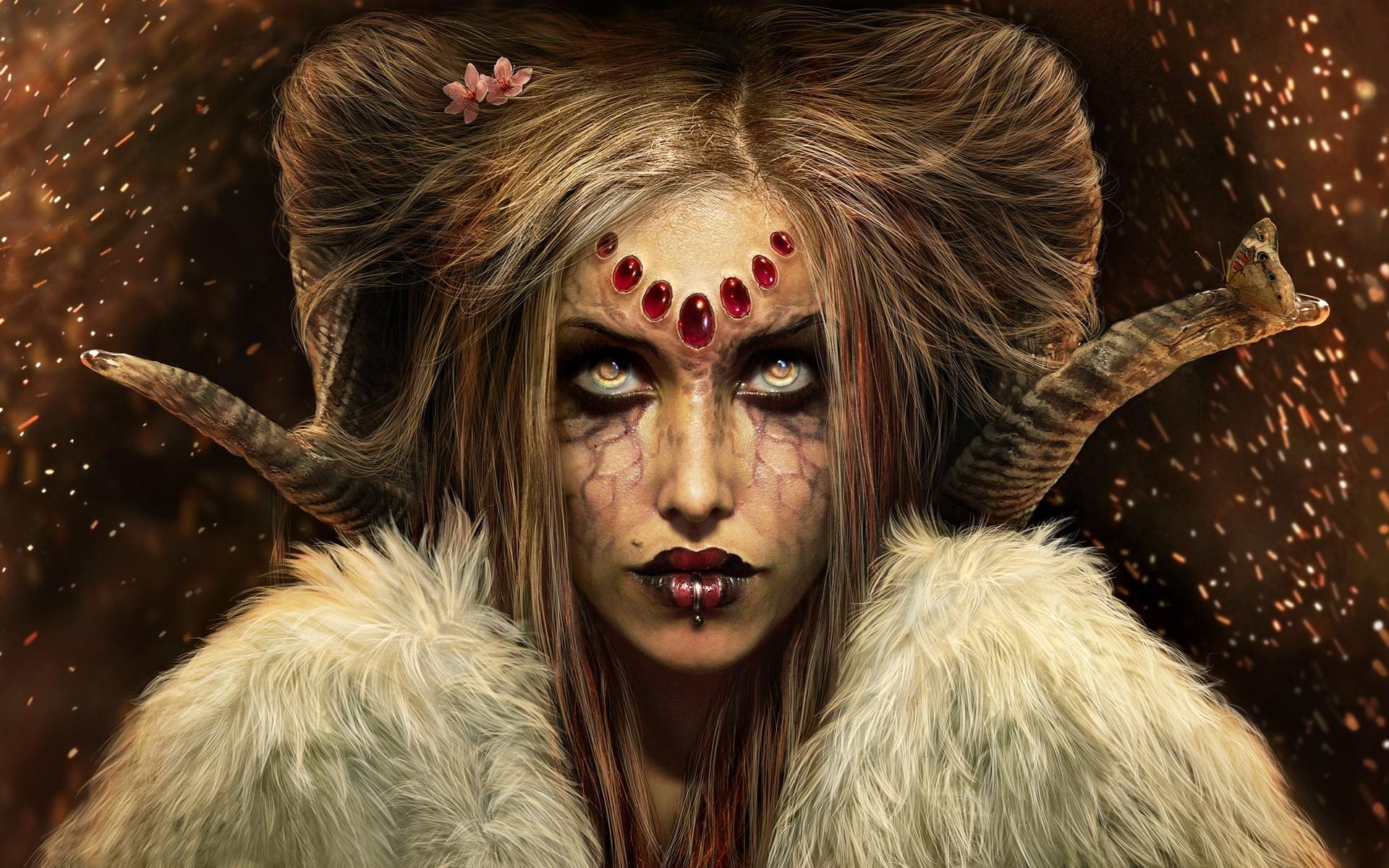 Res: 1920x1200, Demon-girl-wallpaper.jpg