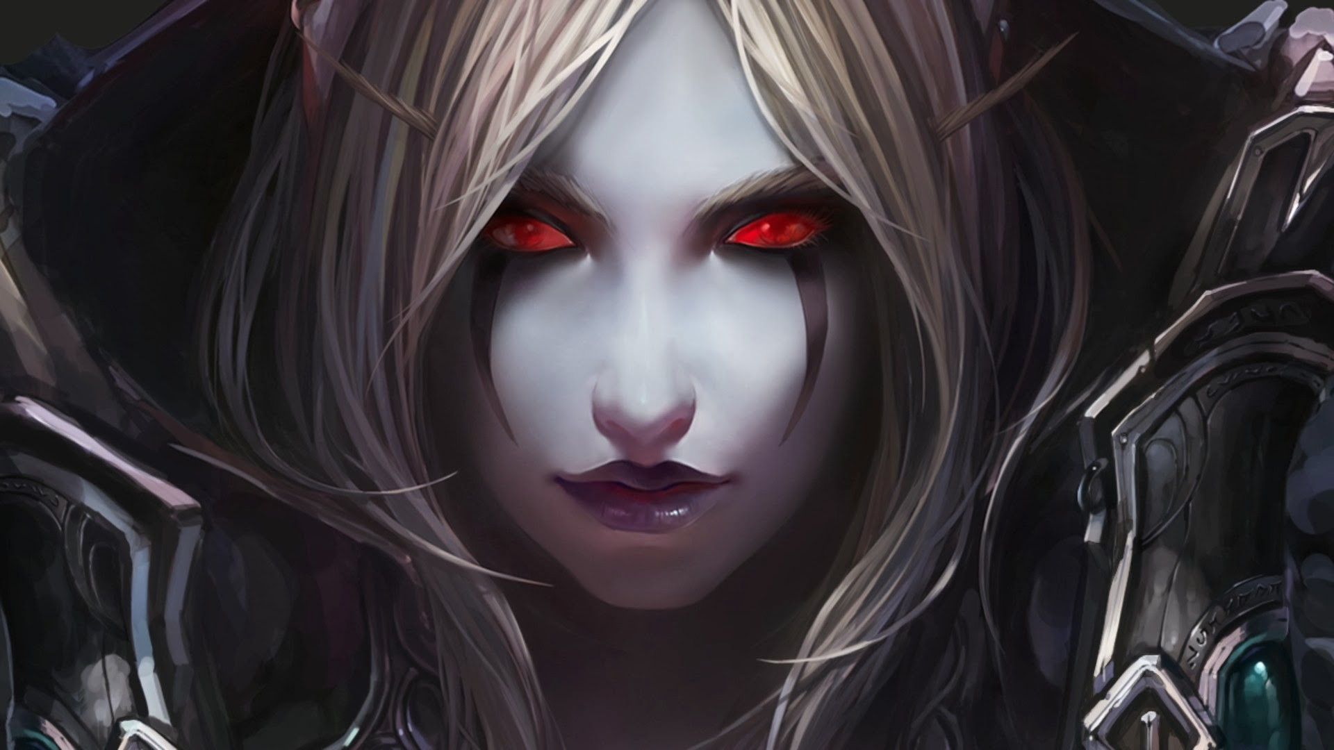 Res: 1920x1080, beautiful-demon-girl-red-eyes-wallpaper-hd-