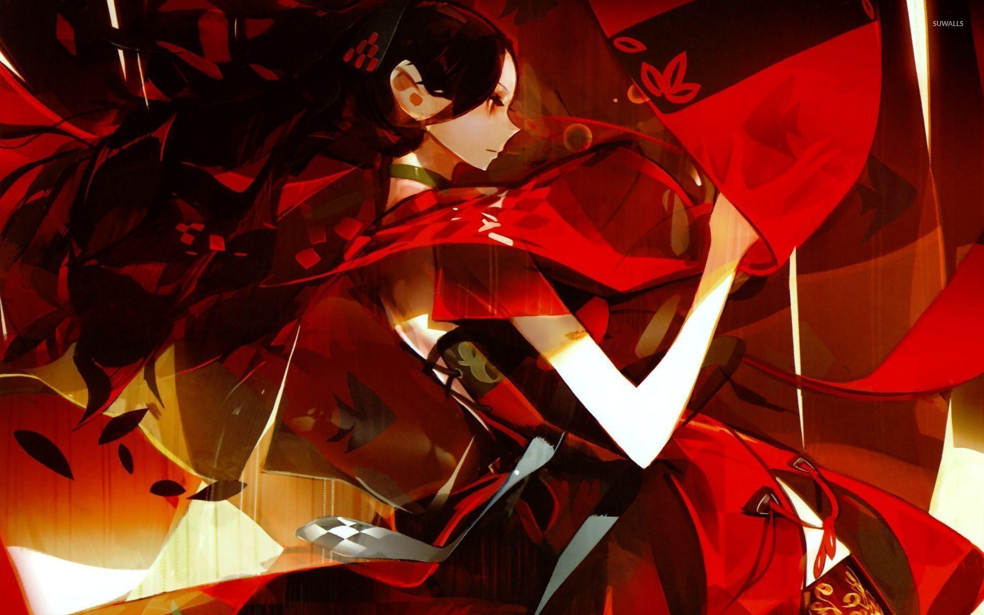 Res: 1920x1200, Dark geisha wallpaper