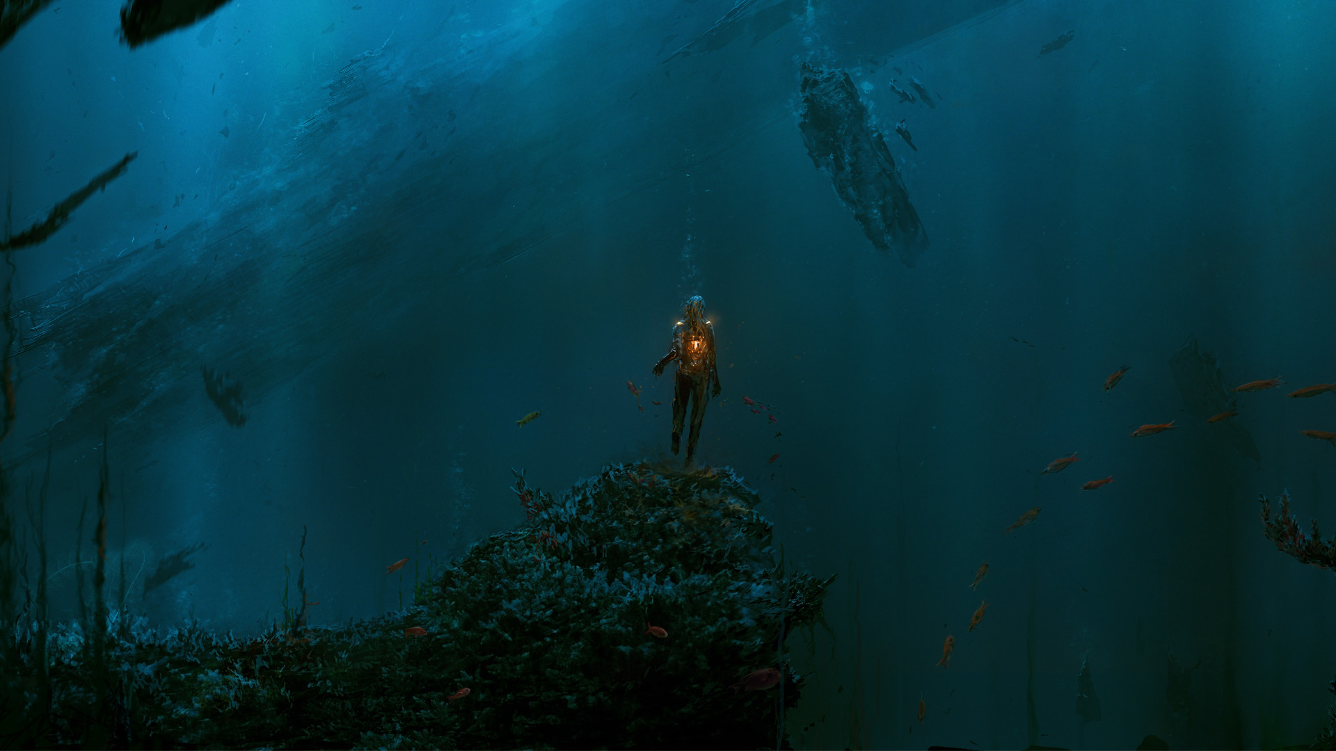 Res: 1920x1080, 473 Underwater HD Wallpapers | Background Images - Wallpaper Abyss - Page 2