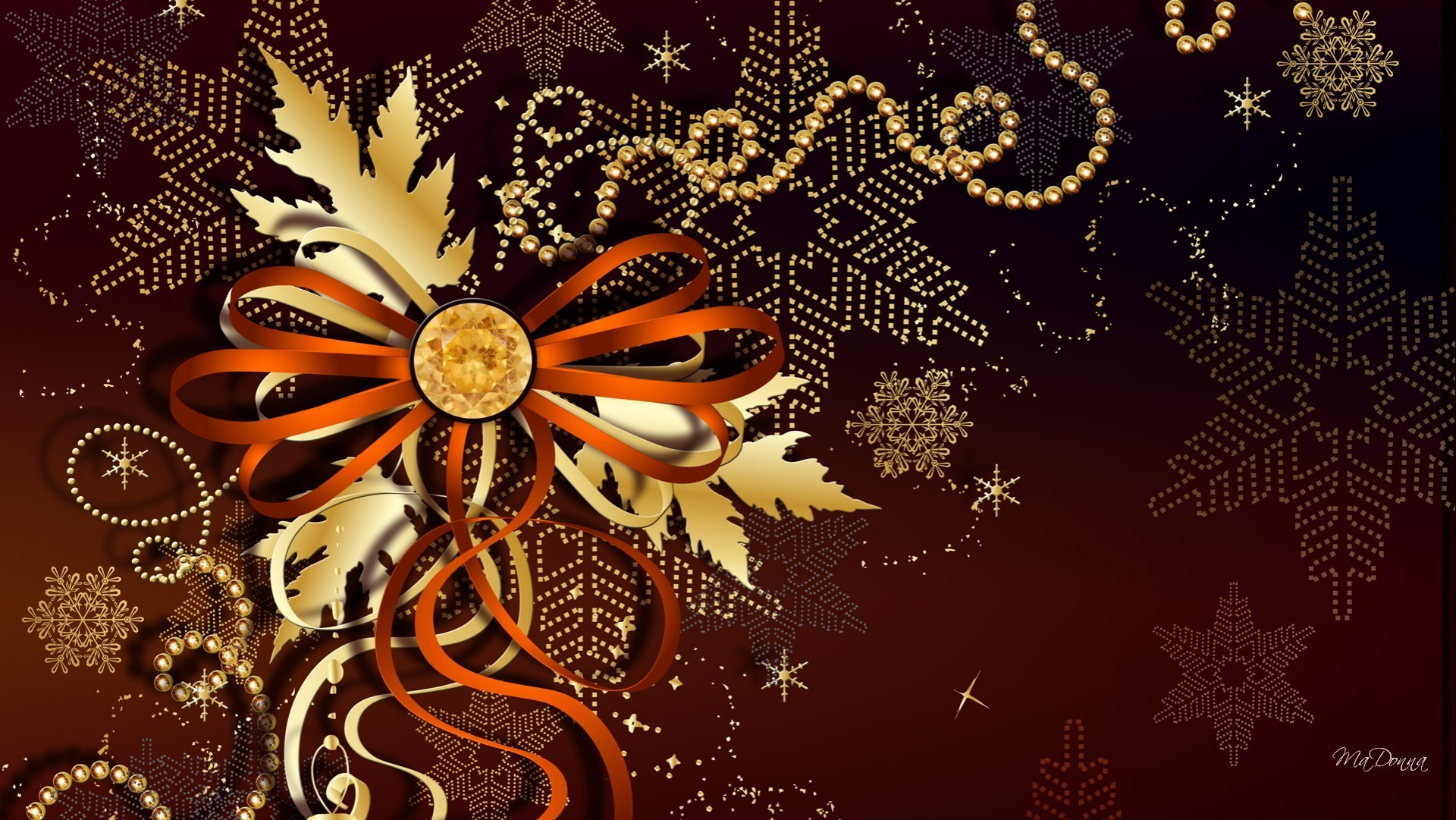 Res: 1920x1081, Holiday bronze wallpaper