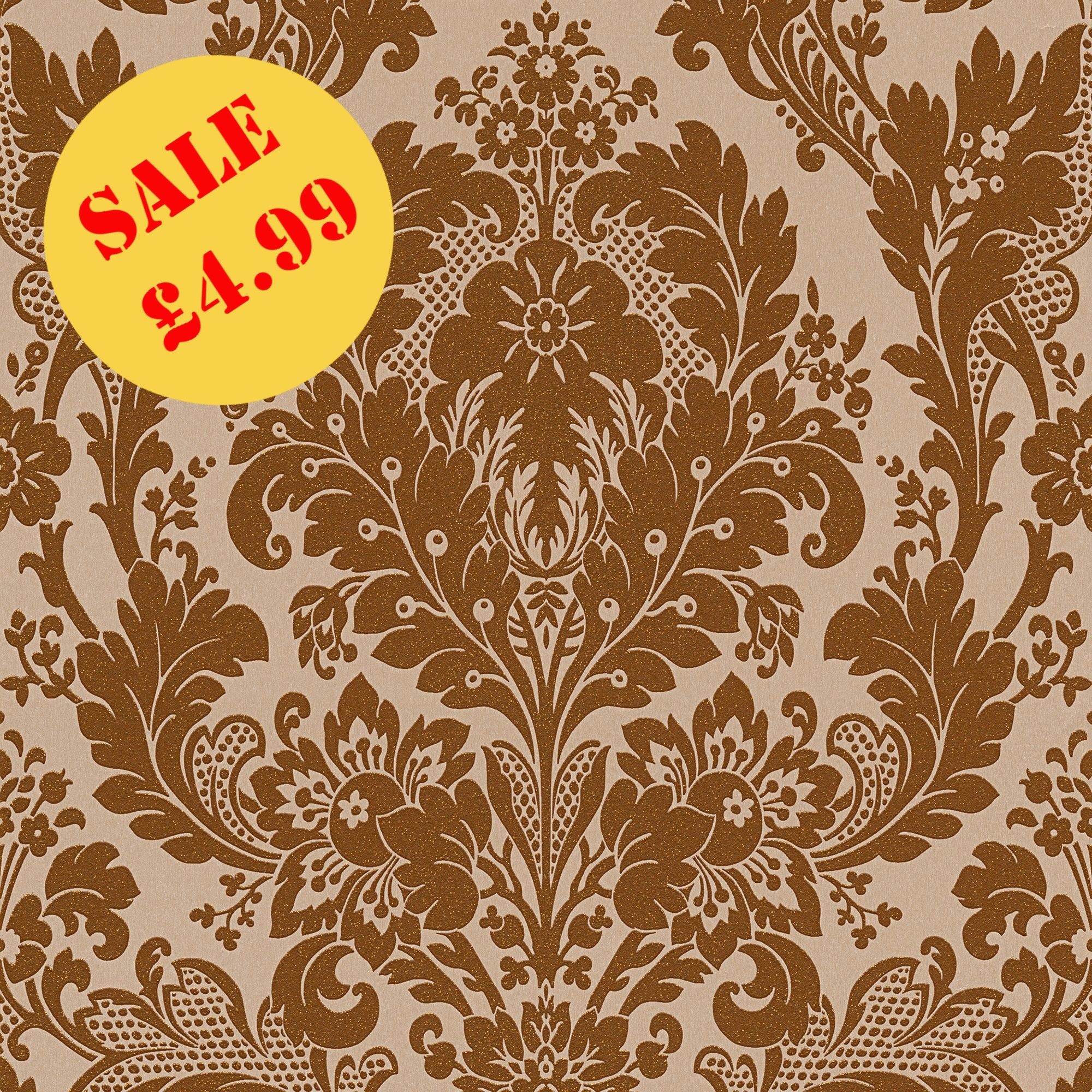 Res: 2000x2000, SALE AS Creation Wallpaper | Kingsley Bronze Copper | 32750-1