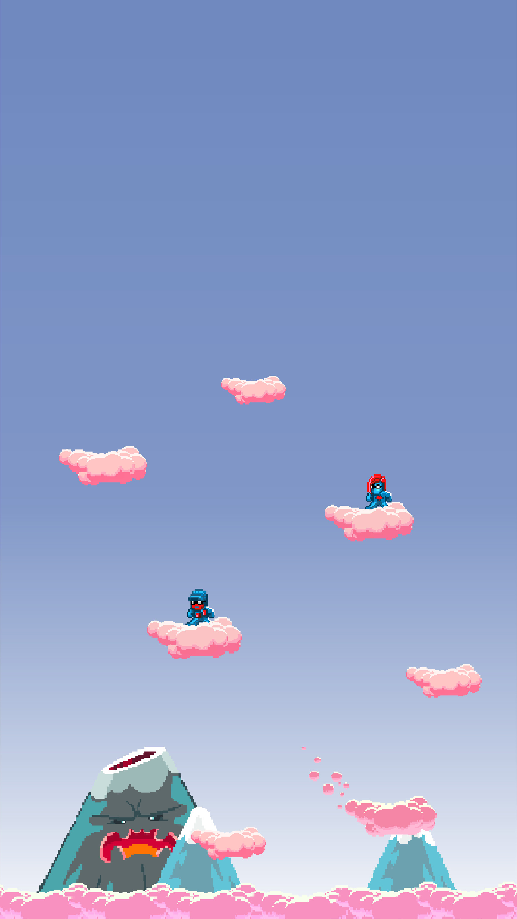 Res: 1726x3067, Pegboard Nerds Pink Cloud iPhone Wallpaper