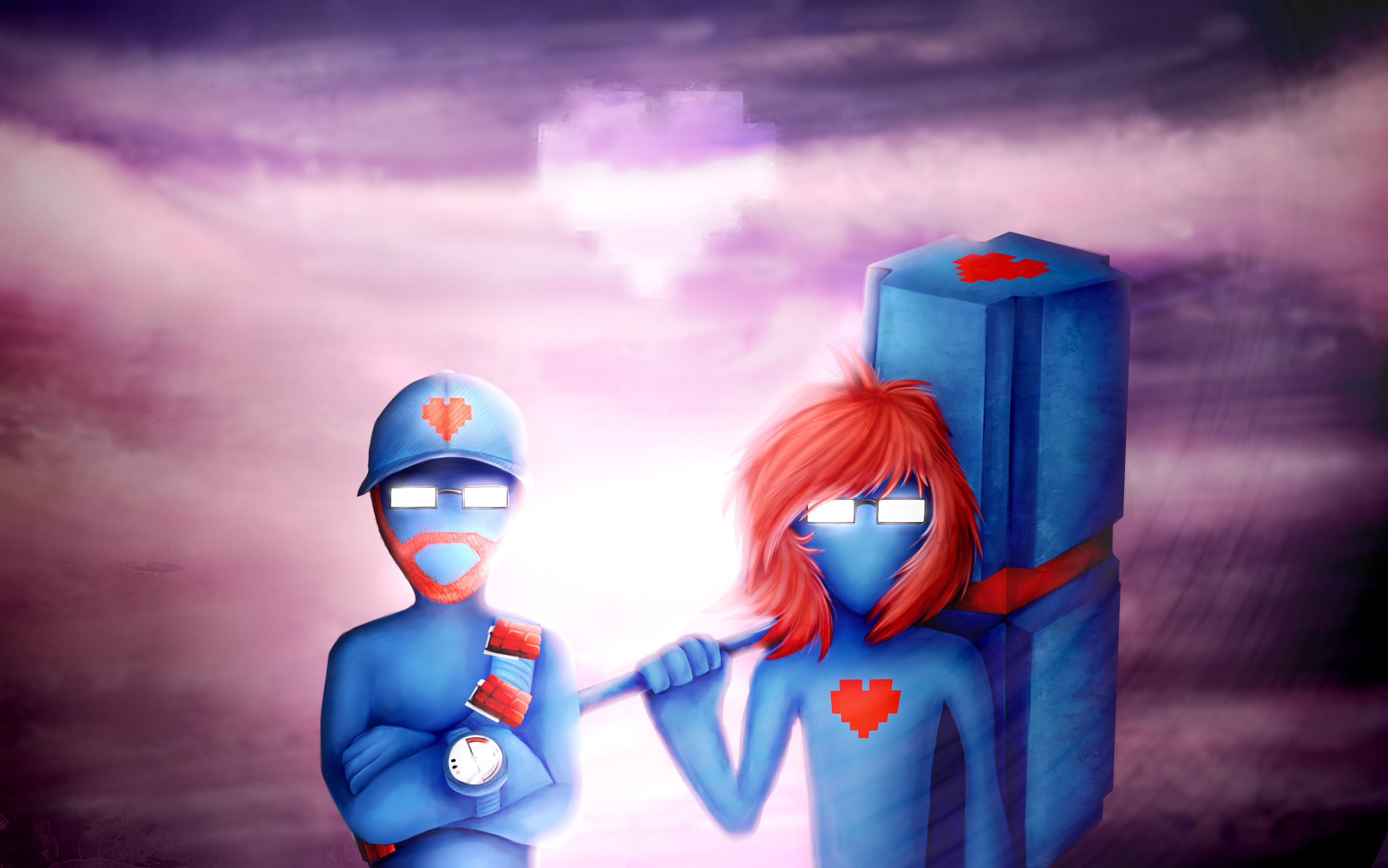 Res: 2398x1500, ... Pegboard Nerds by Anna-Owl