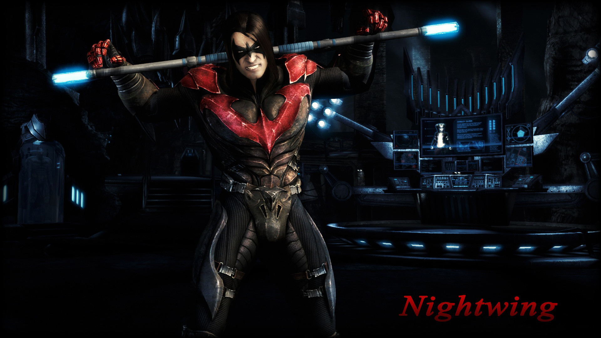 Res: 1920x1080, Nightwing Wallpapers HD Free Download.