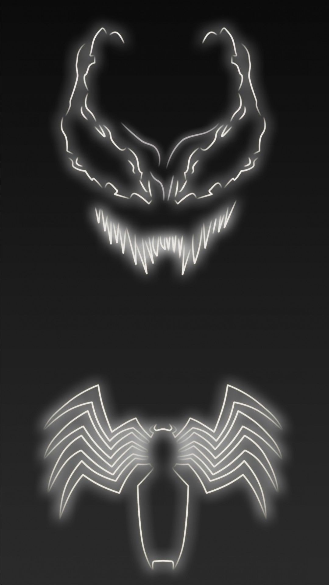 Res: 1080x1920, Neon Light Venom 1080 x 1920 Wallpapers available for free download.