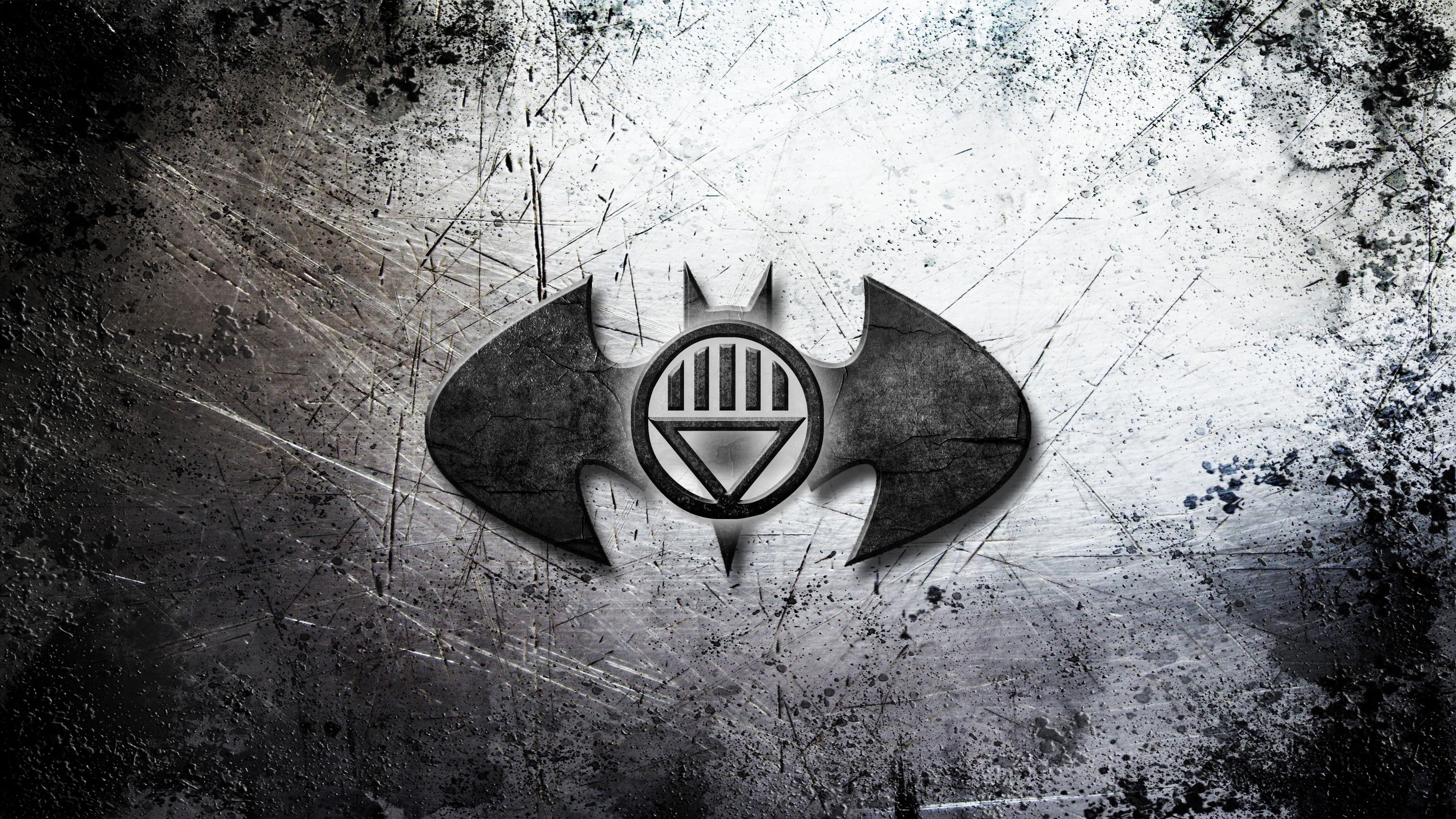 Res: 3840x2160, Batman dark gray logo wallpaper