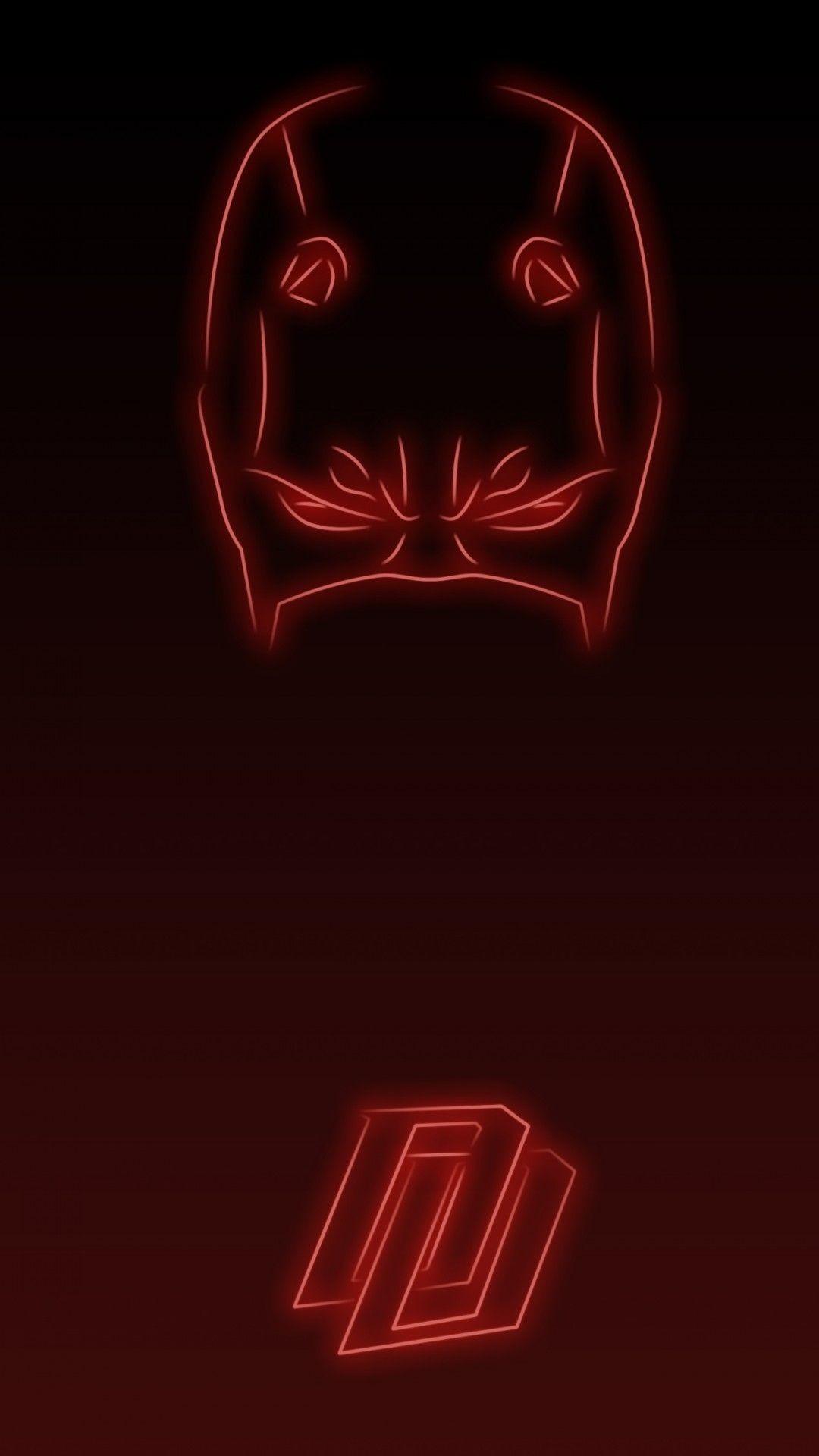 Res: 1080x1920, Neon Light Daredevil 1080 x 1920 Wallpapers disponible en téléchargement  gratuit.