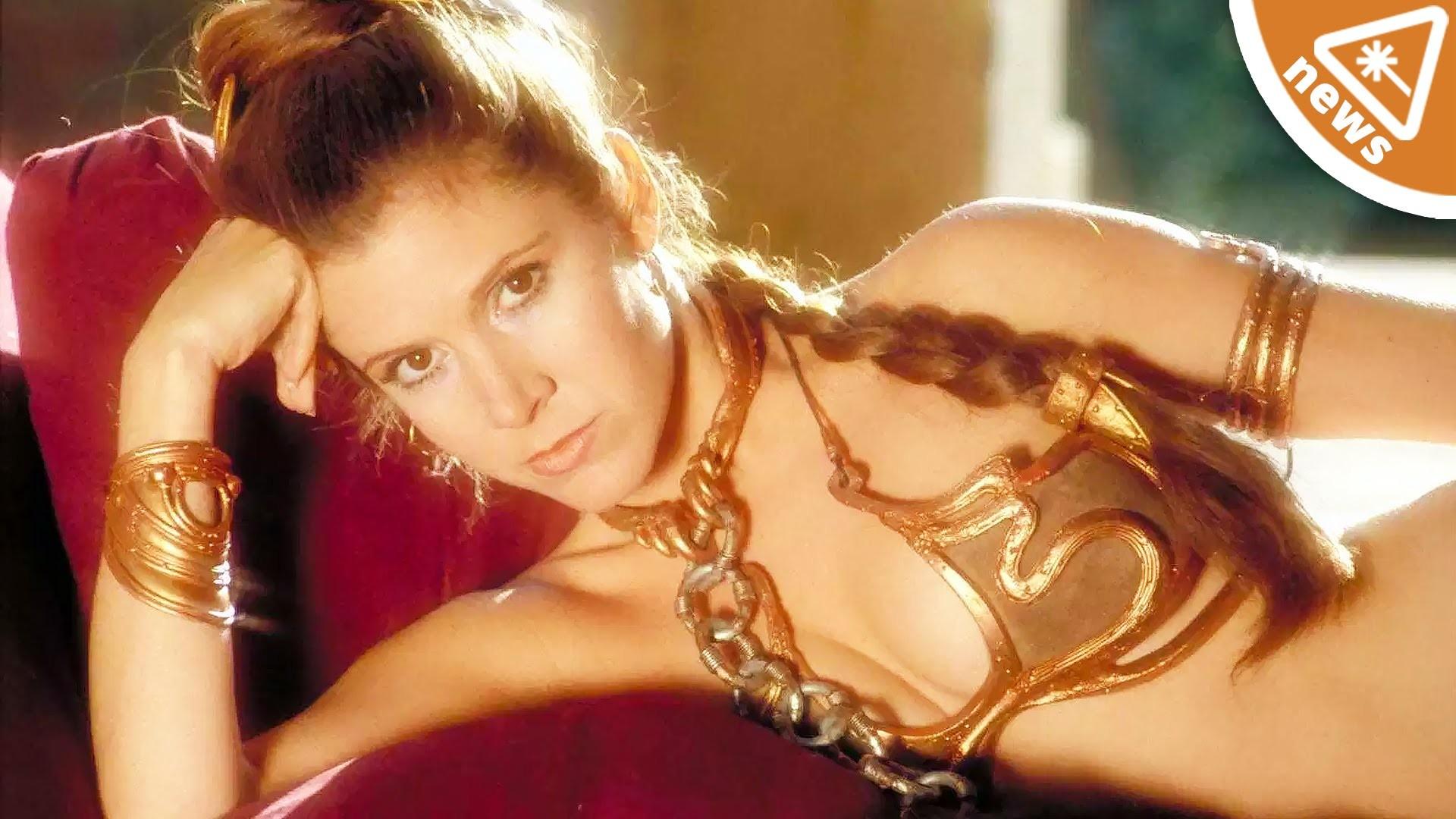 Res: 1920x1080, Say Goodbye to Slave Leia from Star Wars! (Nerdist News w/ Jessica Chobot)  - YouTube