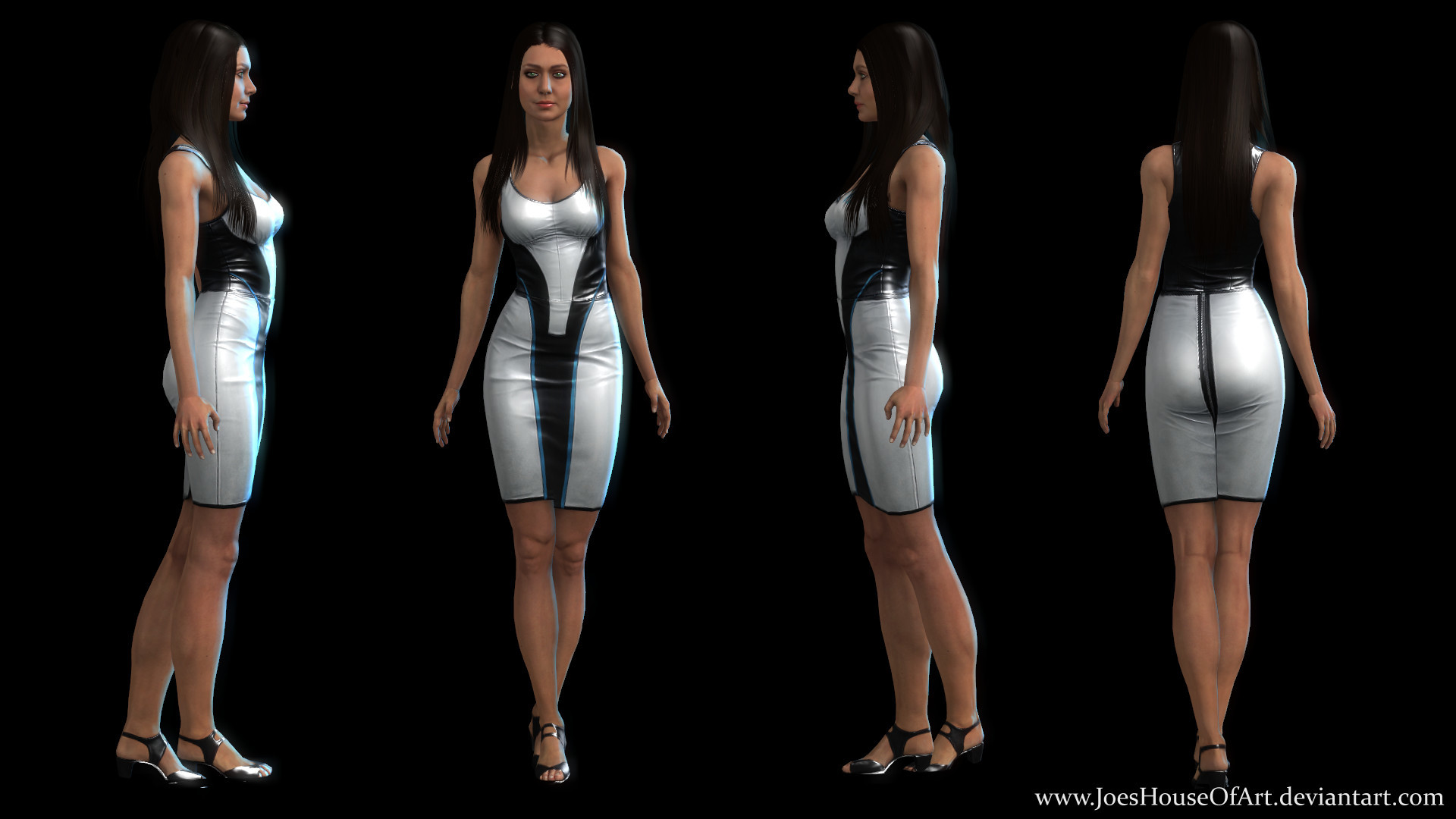 Res: 1920x1080, ... Mass Effect: Diana Allers Jessica Chobot Upgraded by ShaunsArtHouse