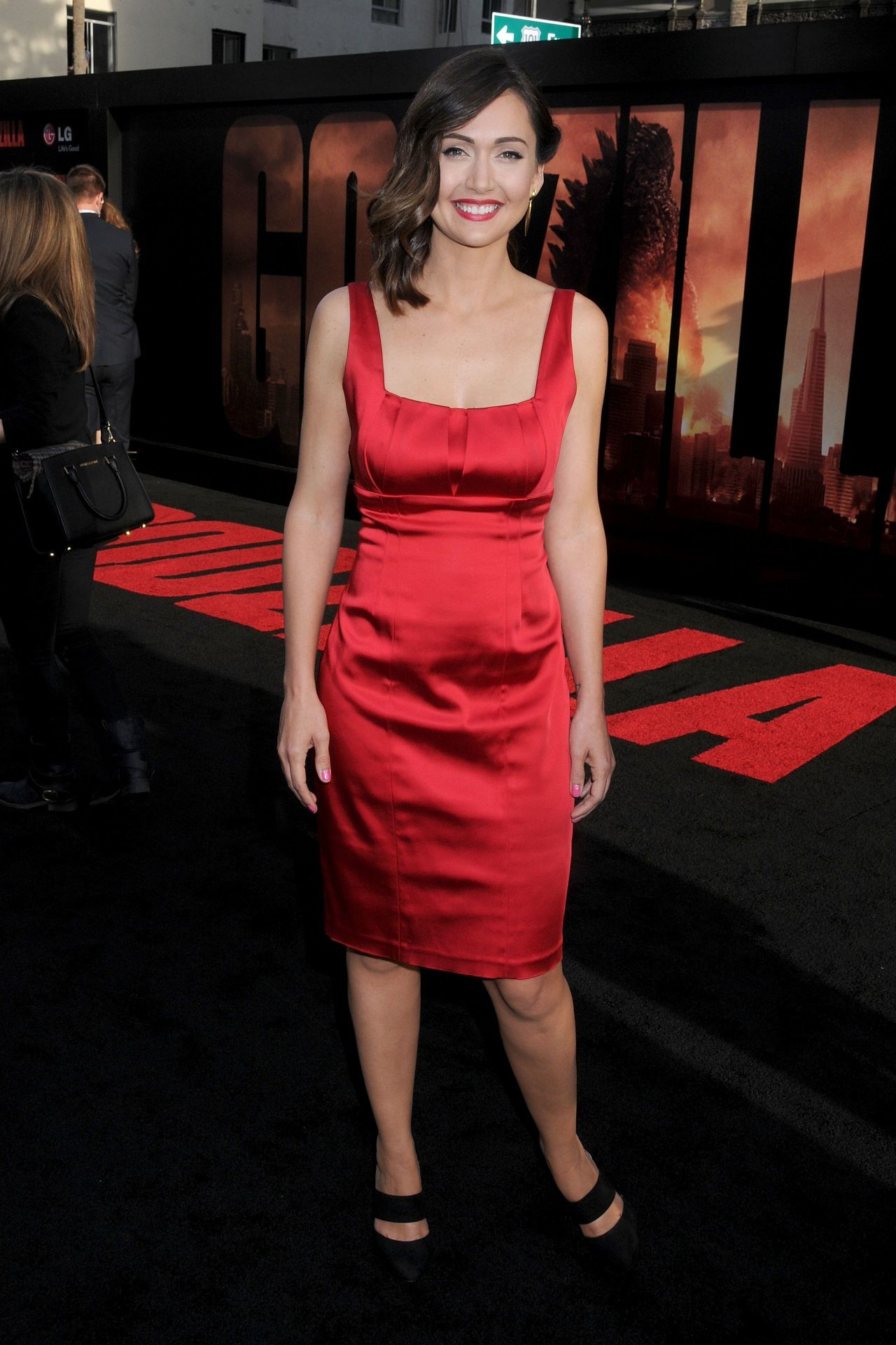 Res: 1280x1920, Jessica Chobot – 'Godzilla' Premiere in Hollywood