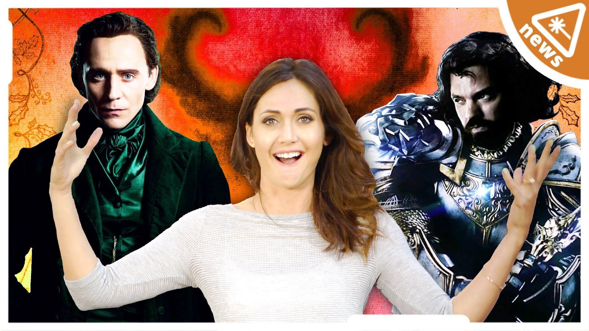 Res: 1920x1080, Crimson Peak and Warcraft Panels at Comic Con! (Nerdist News w/ Jessica  Chobot