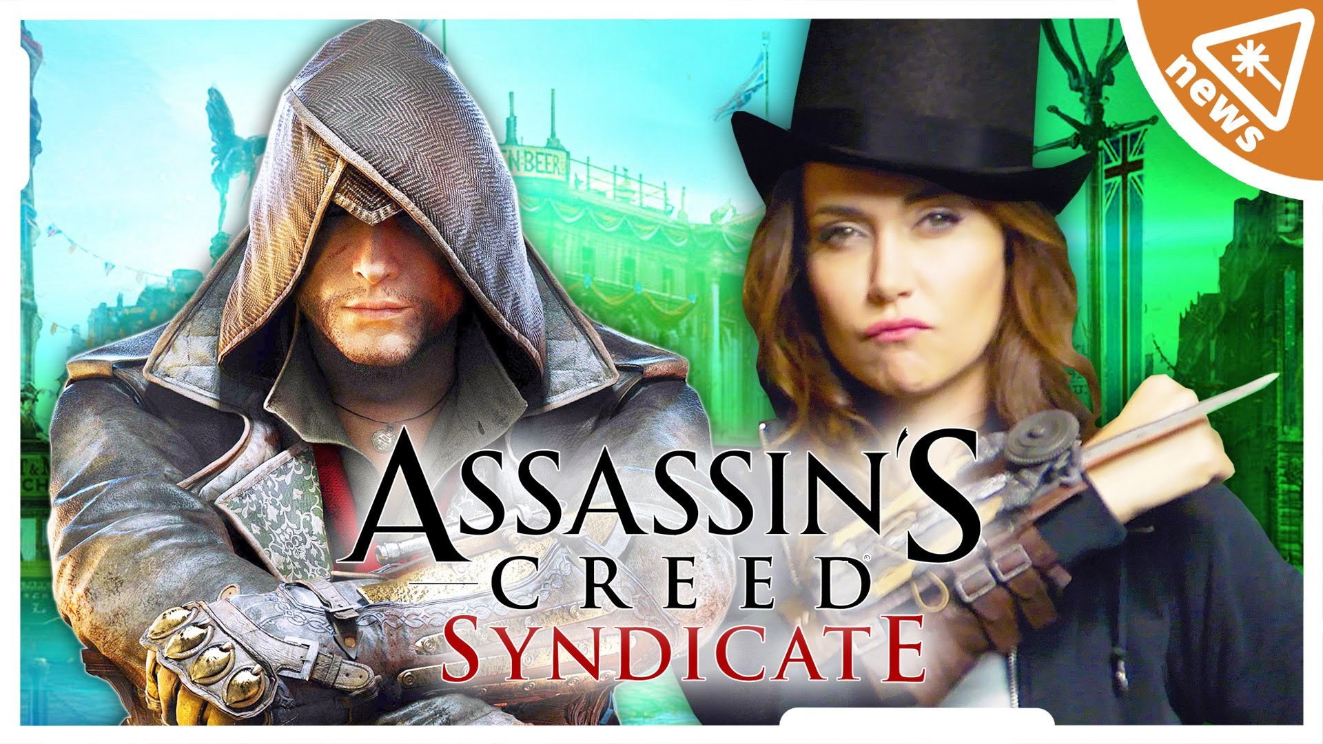 Res: 1920x1080, First Look at ASSASSIN'S CREED SYNDICATE (Nerdist News w/ Jessica Chobot) -  YouTube