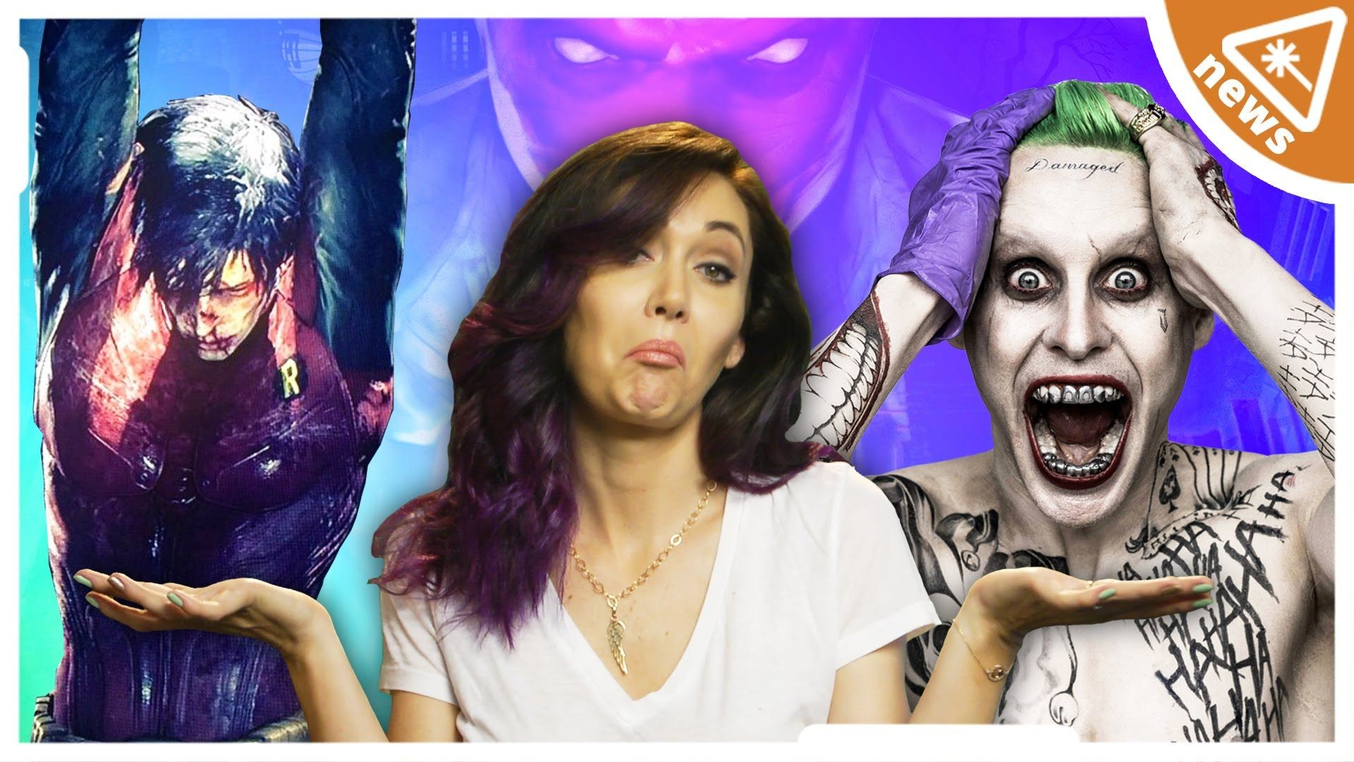 Res: 1920x1080, Is SUICIDE SQUAD'S Joker Actually Robin?? (Nerdist News w/ Jessica Chobot)