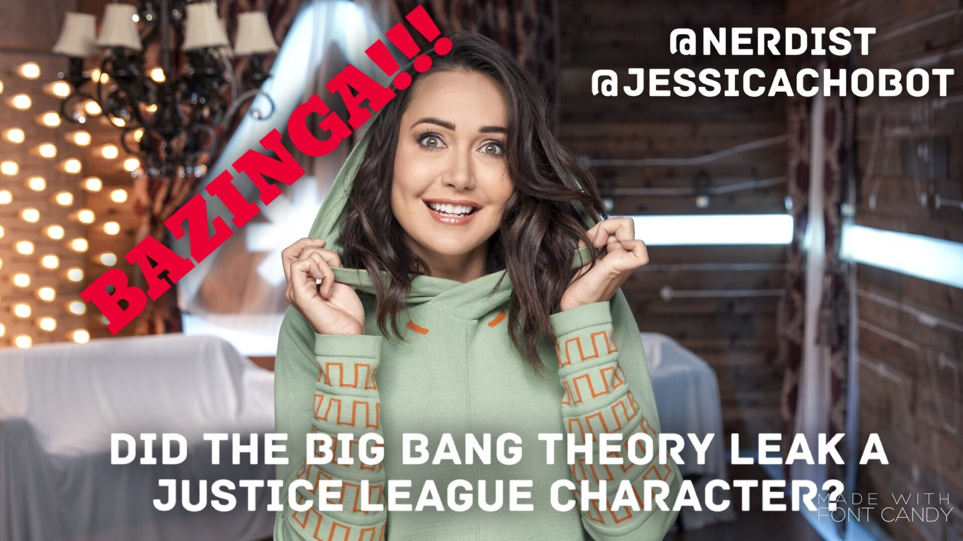 """Res: 1920x1080, Jessica ChoBattleBot 🔥🤖 on Twitter: """"Did the Big Bang Theory accidentally  spill the beans on a surprise character within the @justiceleaguewb?"""