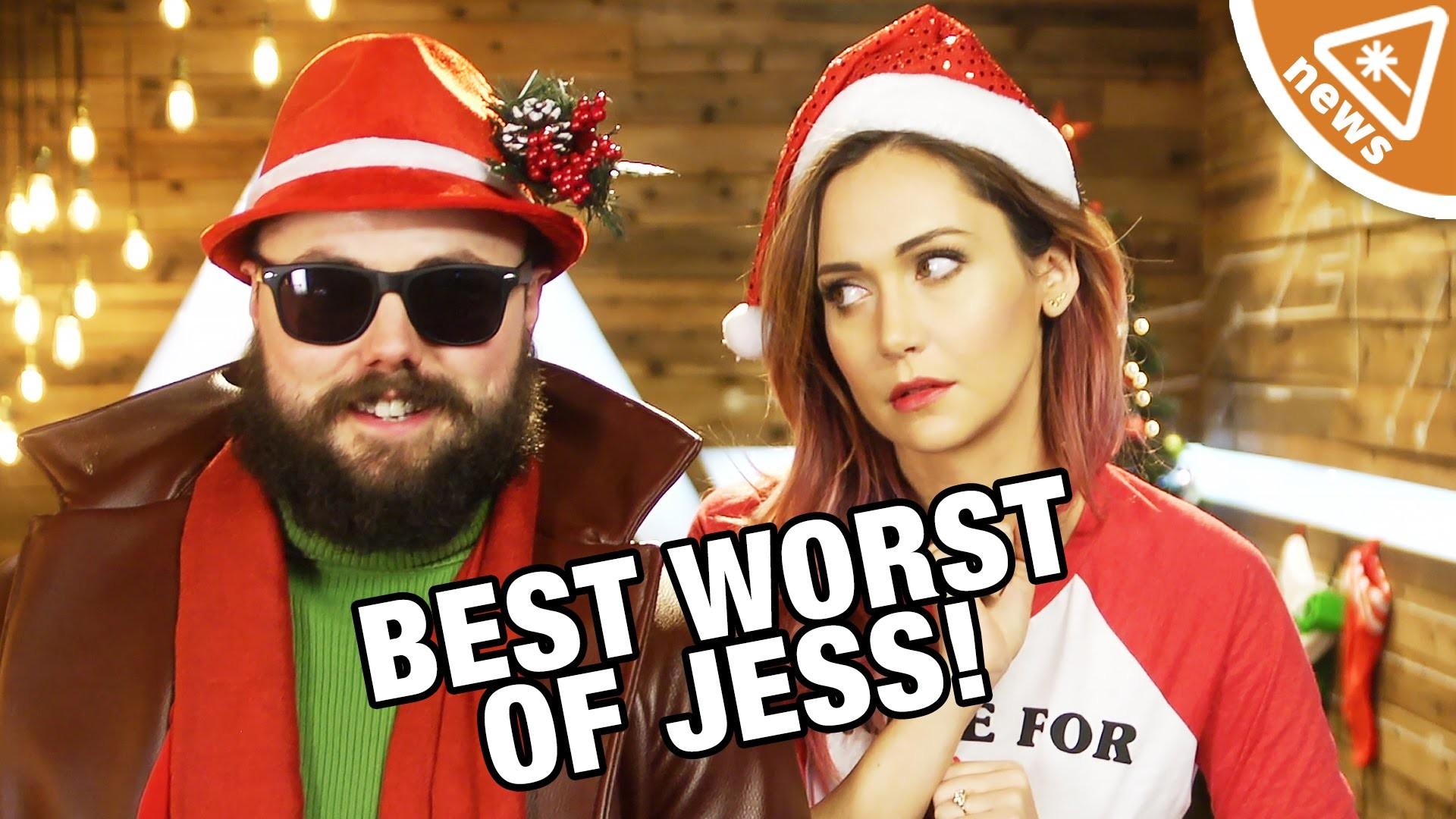 Res: 1920x1080, The Best and Worst of Jessica Chobot from 2015! (Nerdist News w/ Jessica  Chobot) - YouTube