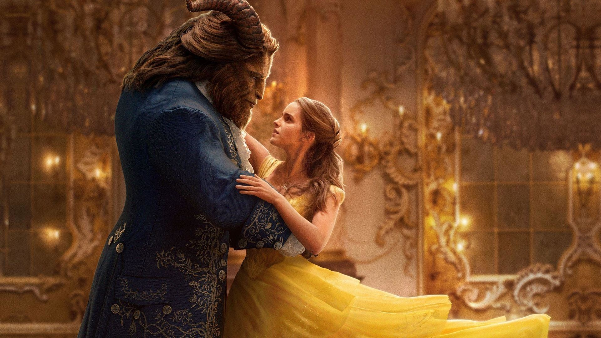 Res: 1920x1080, Beauty-and-the-Beast-Official-Wallpaper-HD