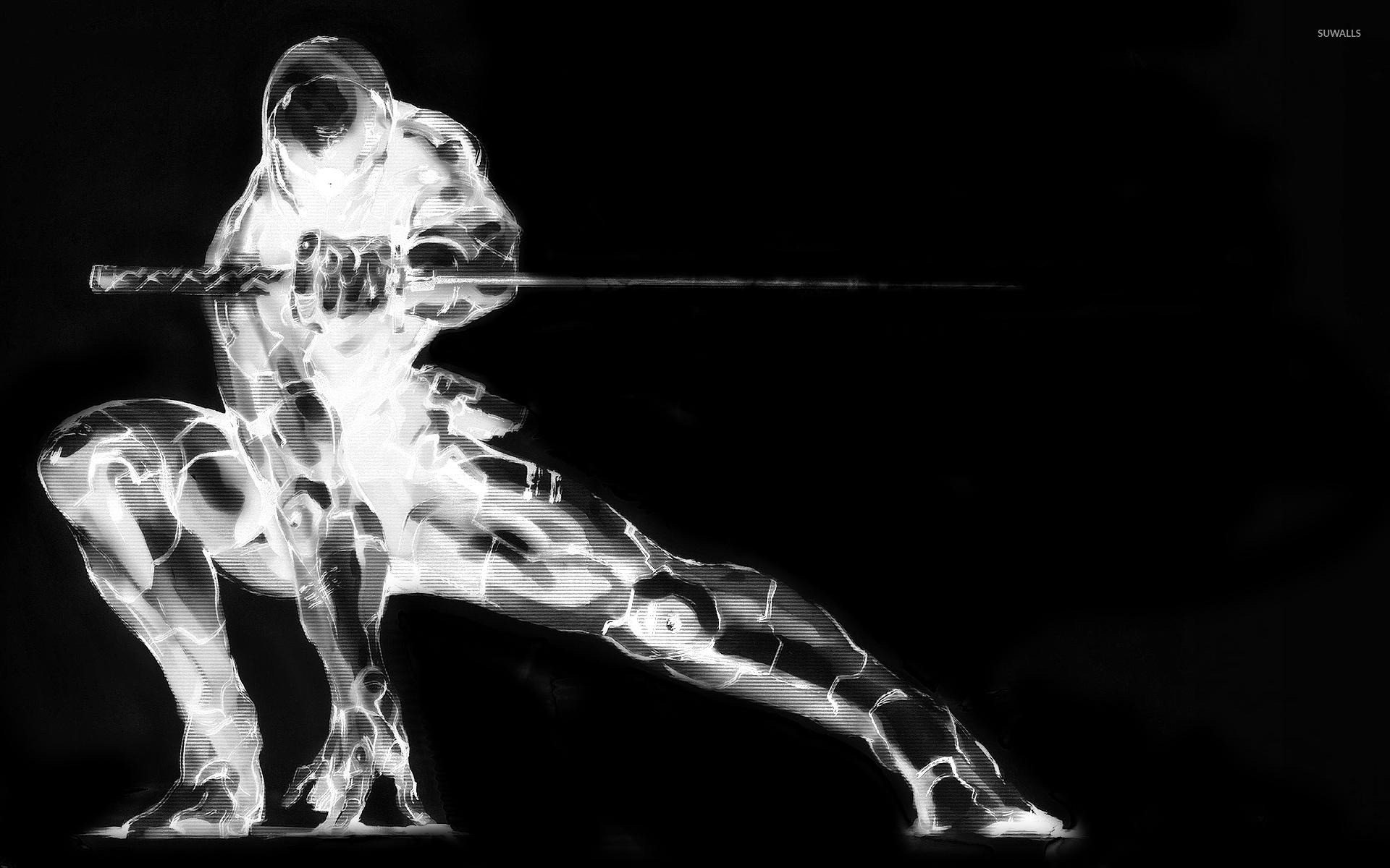 Res: 1920x1200, Gray Fox - Metal Gear Solid [2] wallpaper