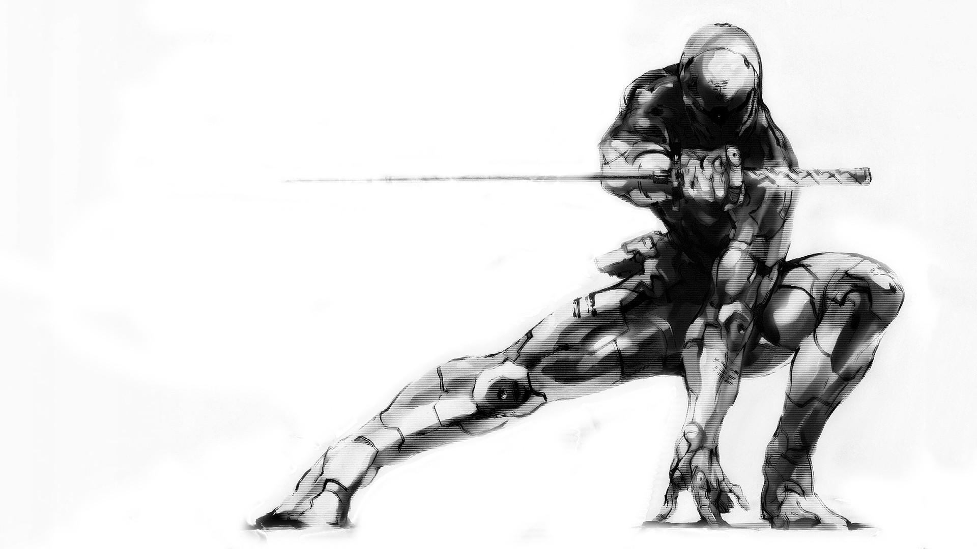 Res: 1920x1080, Metal Gear Solid · Gray Fox