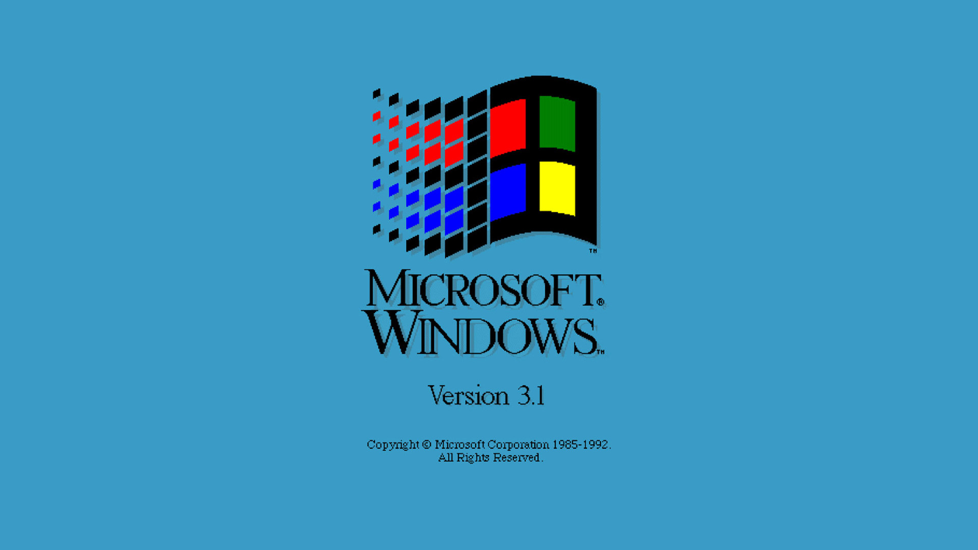 Res: 1920x1080, Technology - Windows 3.1 Wallpaper
