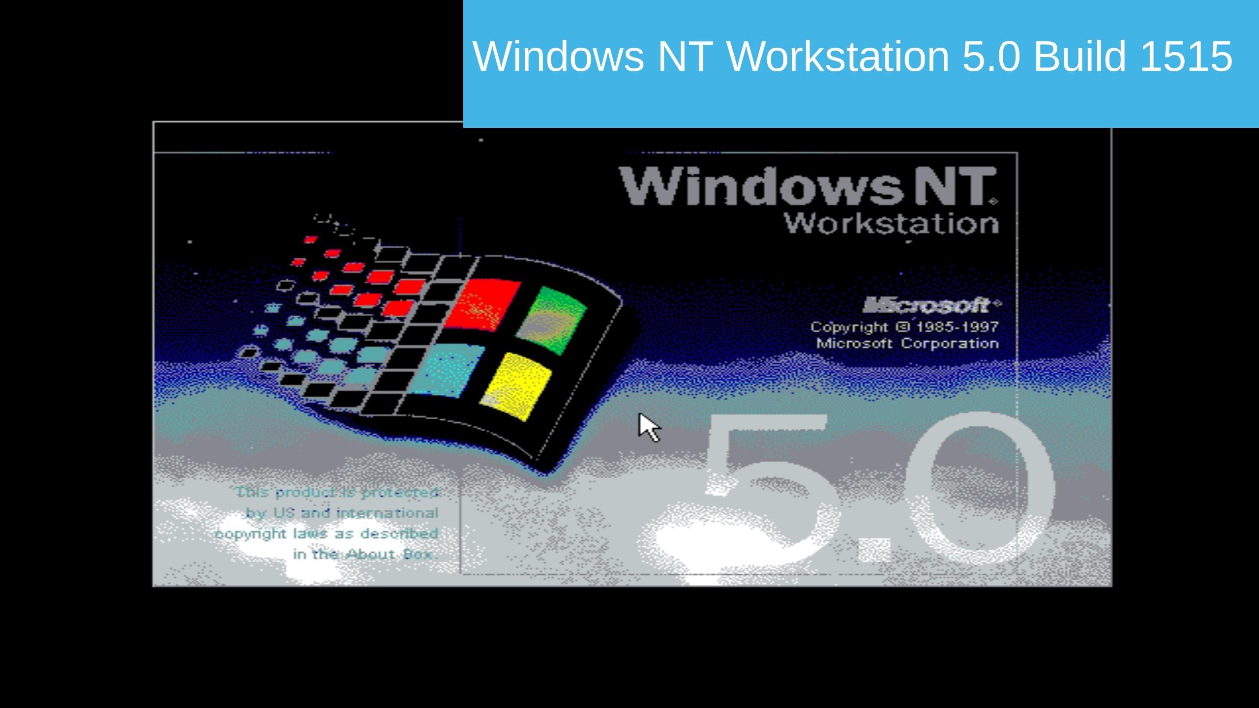 Res: 2560x1440, Windows NT 5.0 (Windows 2000 Pre-Beta) Build 1515 In Virtualbox! - YouTube