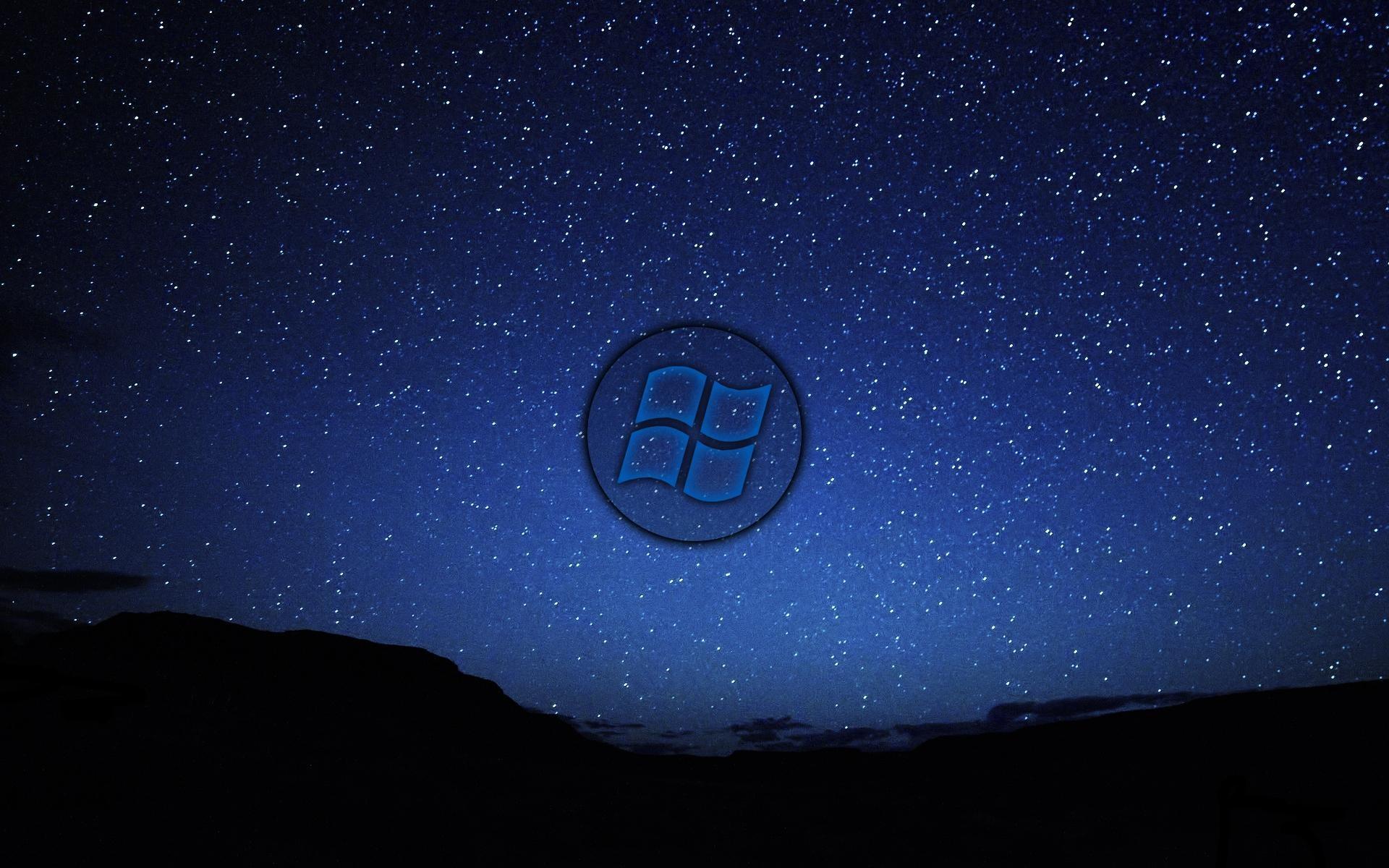 Res: 1920x1200, Night Sky Windows