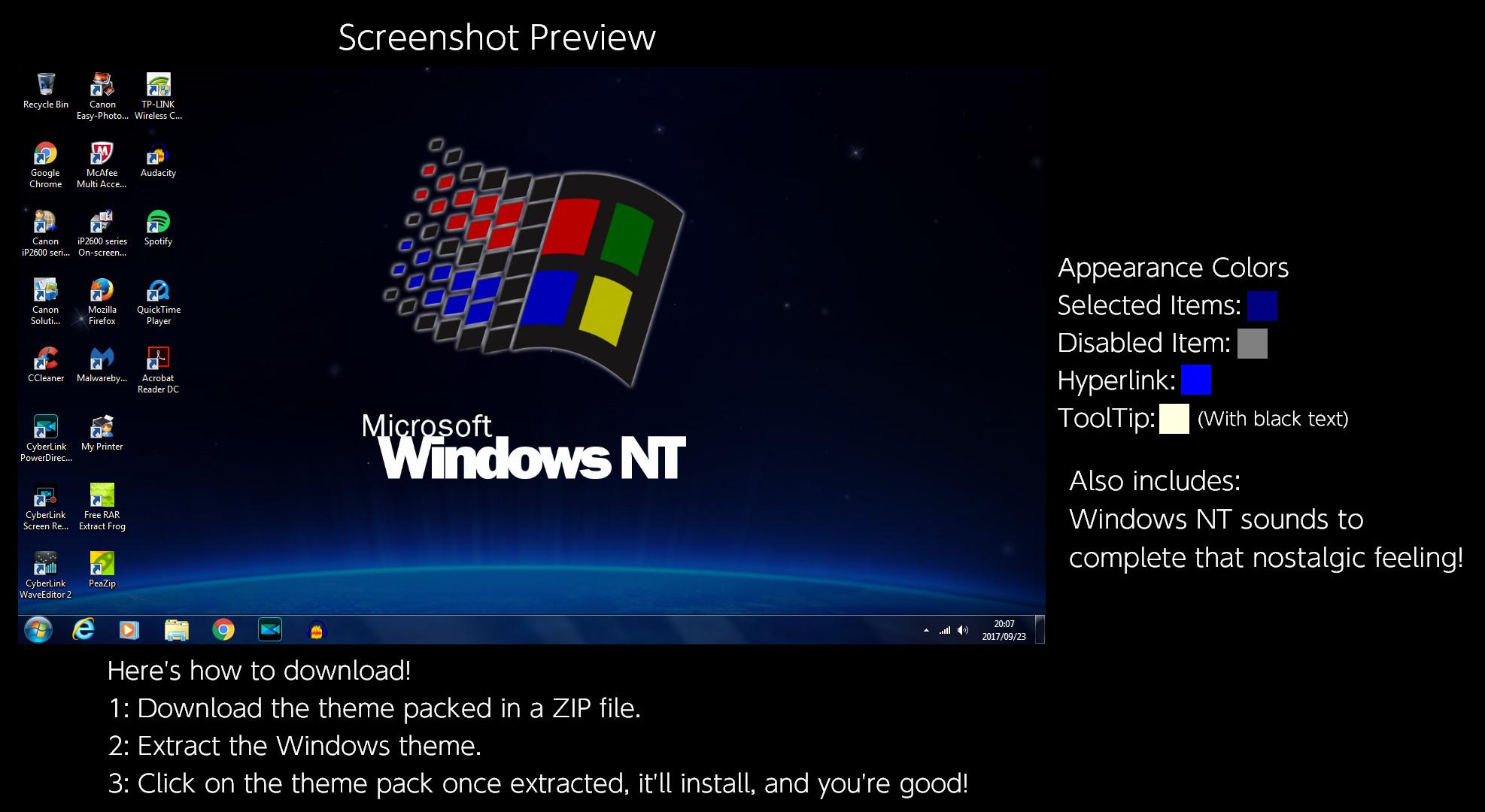 Res: 1974x1080, sedzia94 14 7 Windows NT Windows Theme by TheWolfBunny