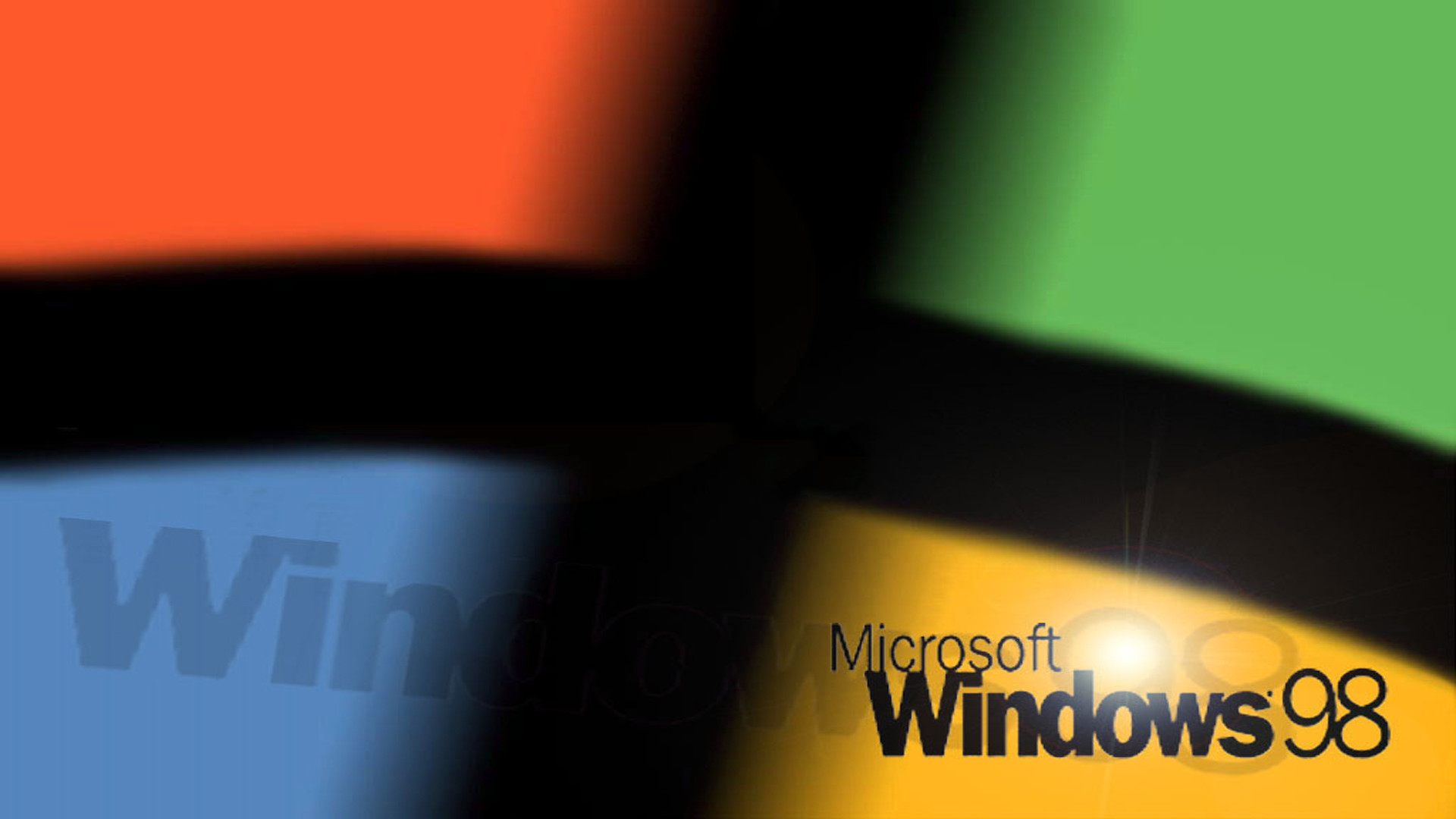 Res: 1920x1080, ... Windows 98 for Widescreen People by TheBC