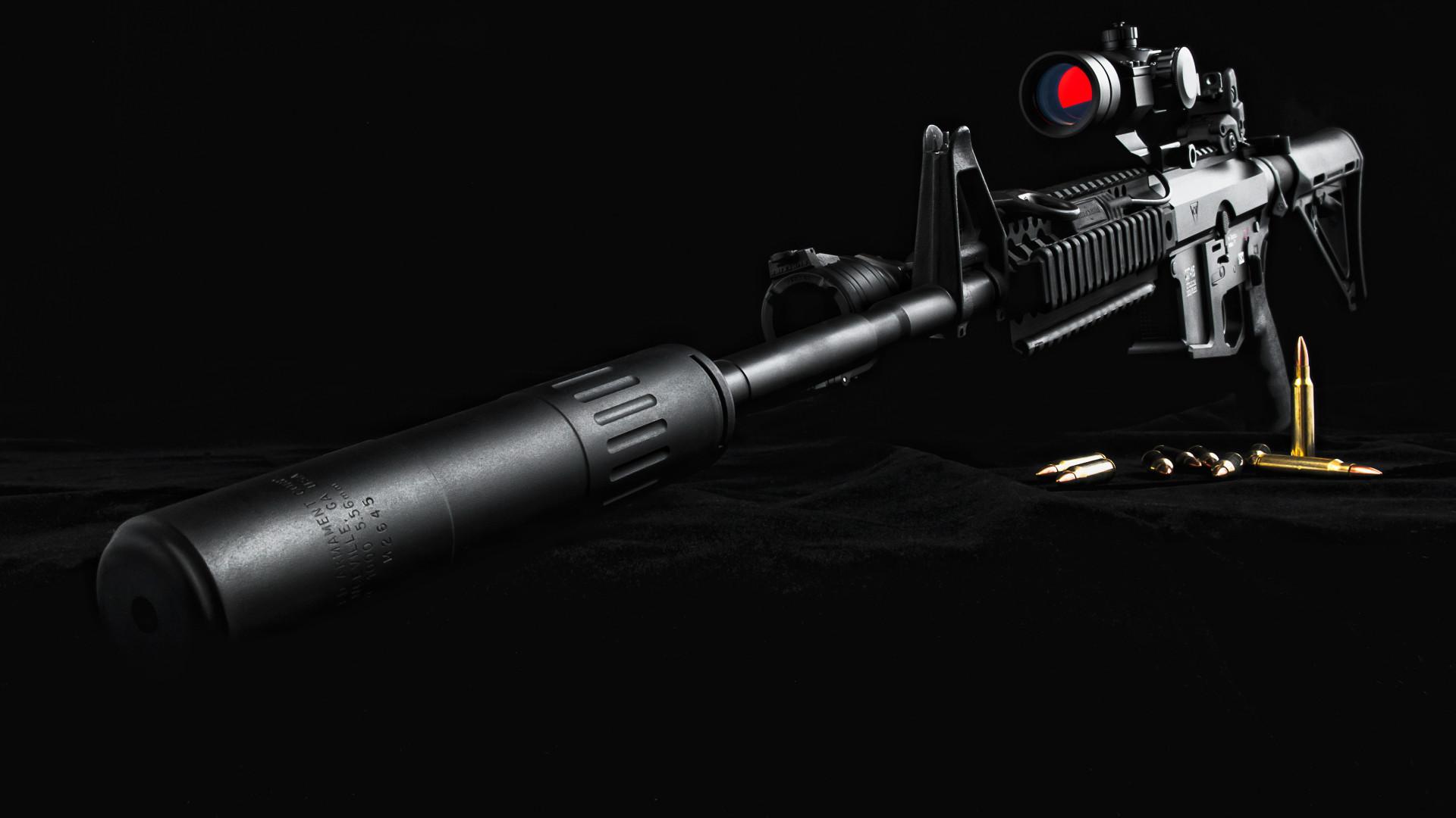 Res: 1920x1080, Glock 18 Automatic Pistol Wallpaper
