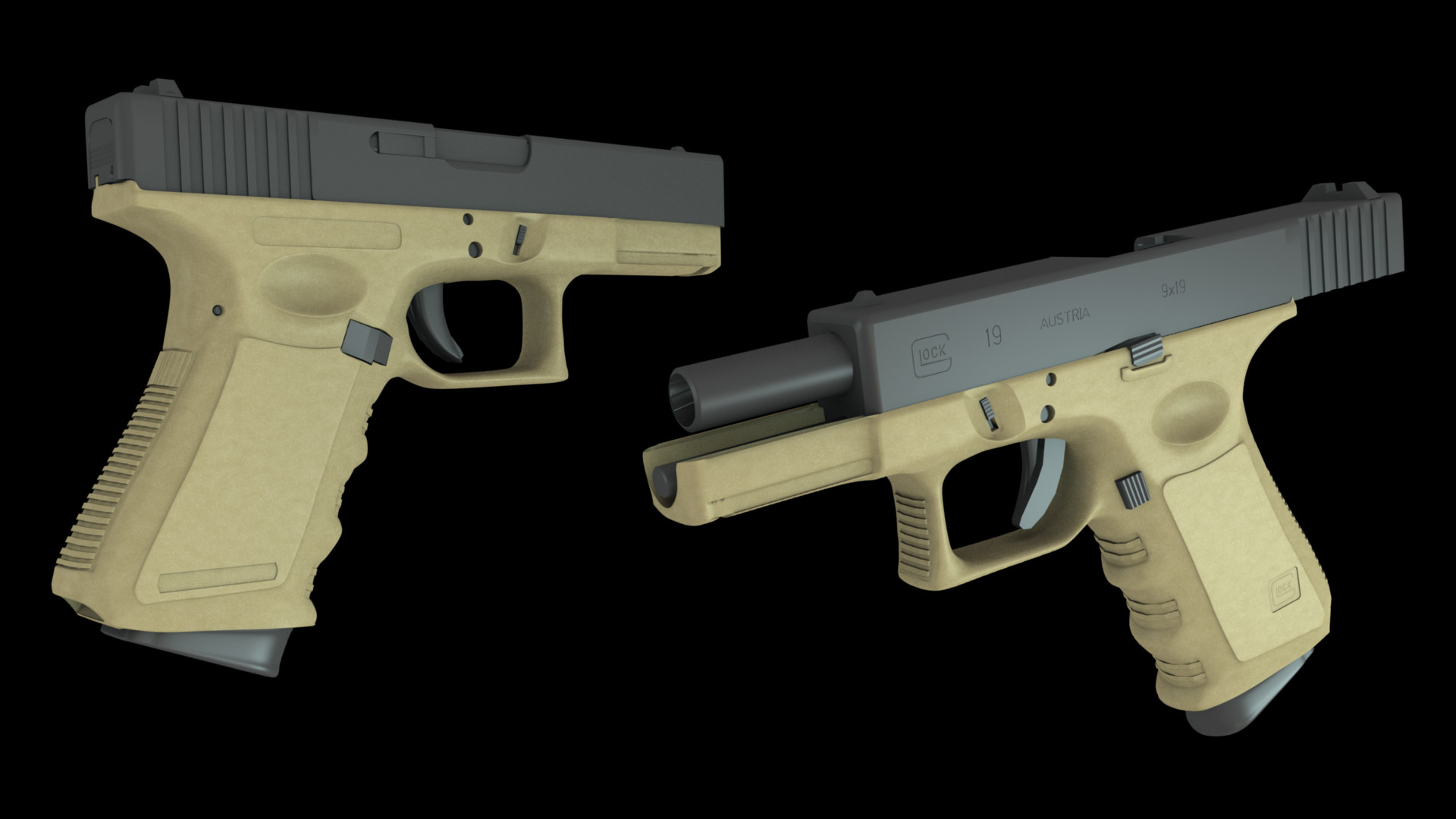 Res: 1920x1080, Glock 19 Wallpaper Comreport media wip glock 19