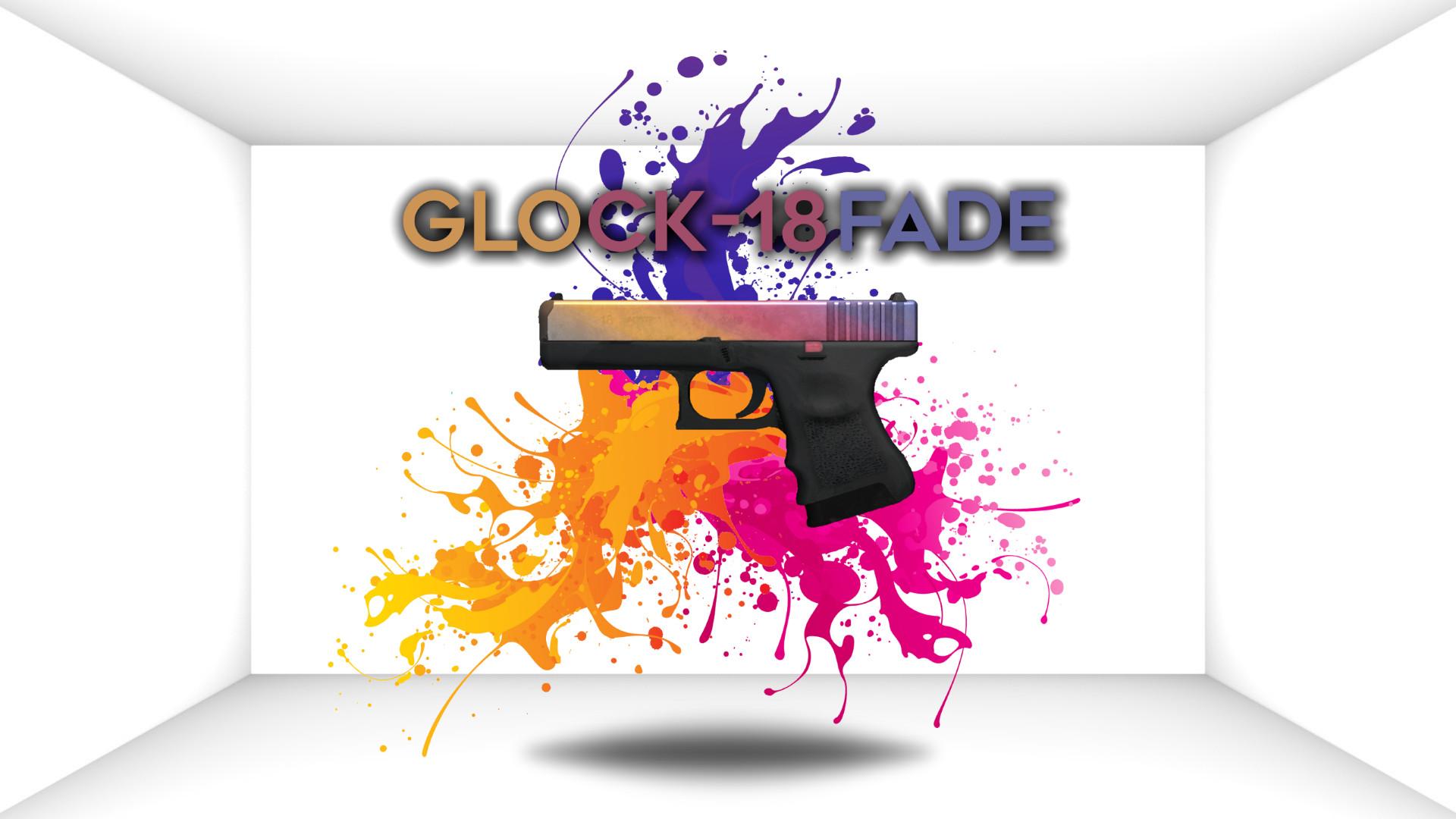 Res: 1920x1080, Glock-18 Fade