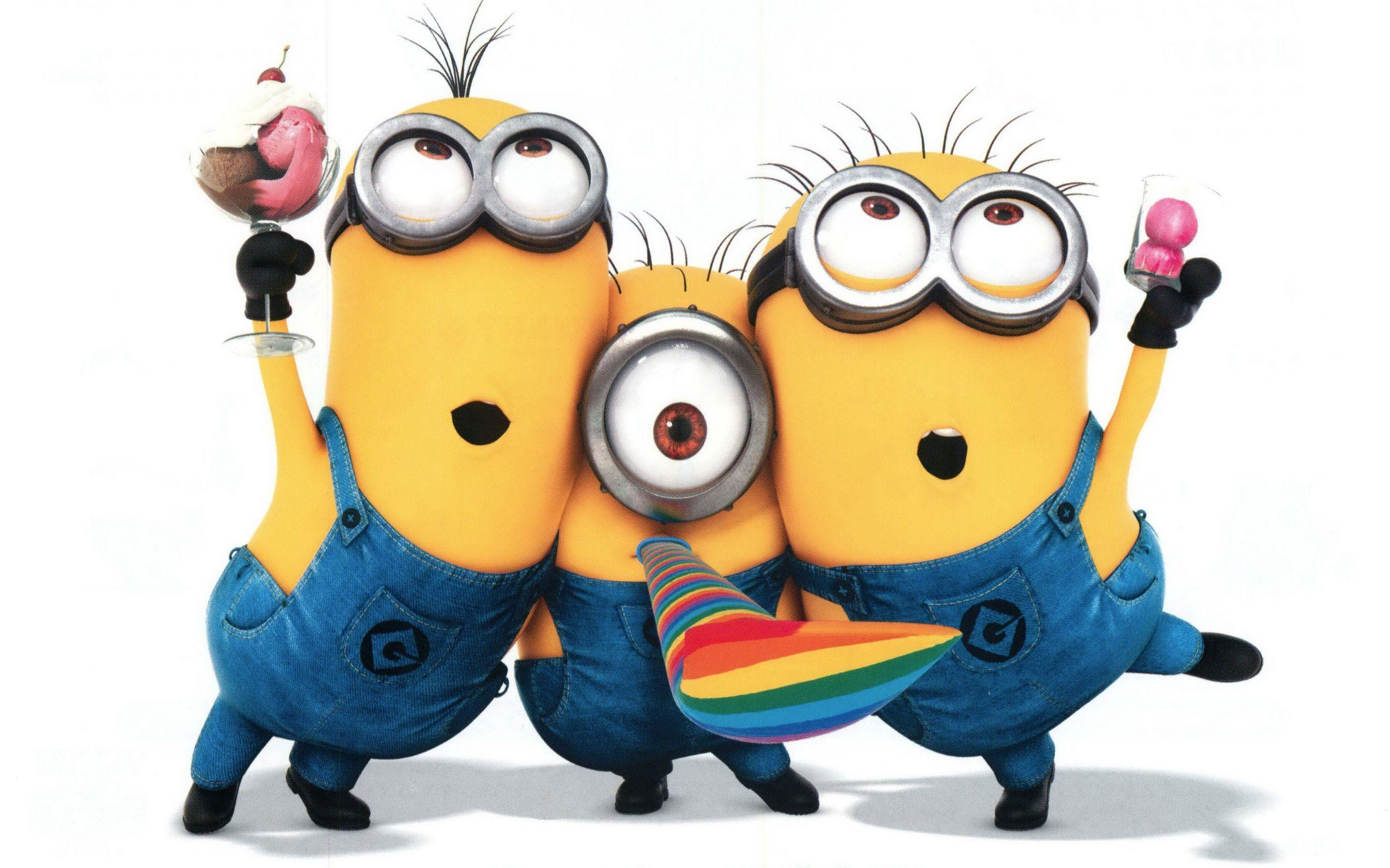 Res: 2880x1800, Minions In Despicable Me 2 - Movie Wallpapers