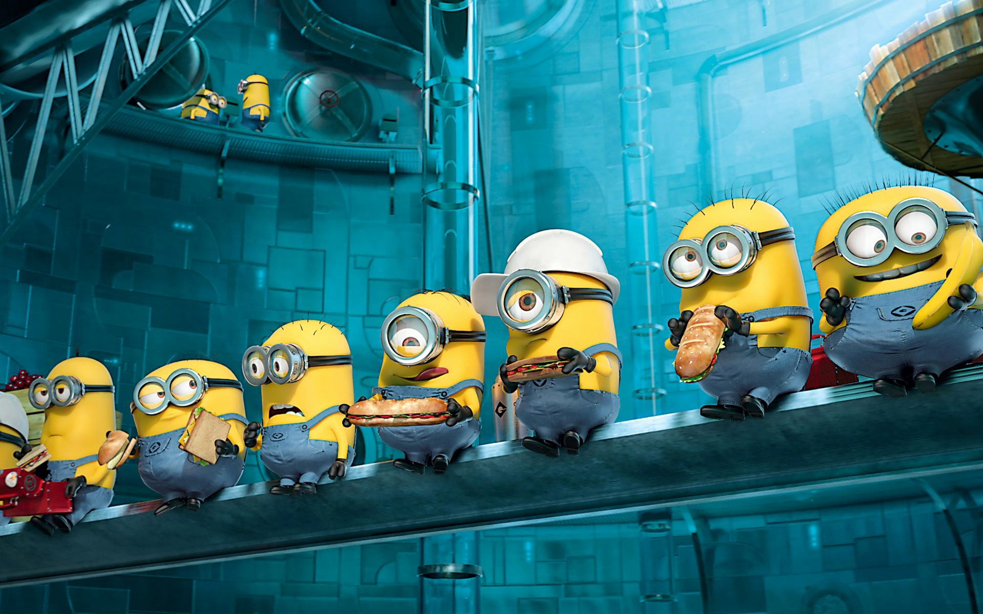 Res: 1920x1200, Minion Wallpaper Awesome Minions From Despicable Me