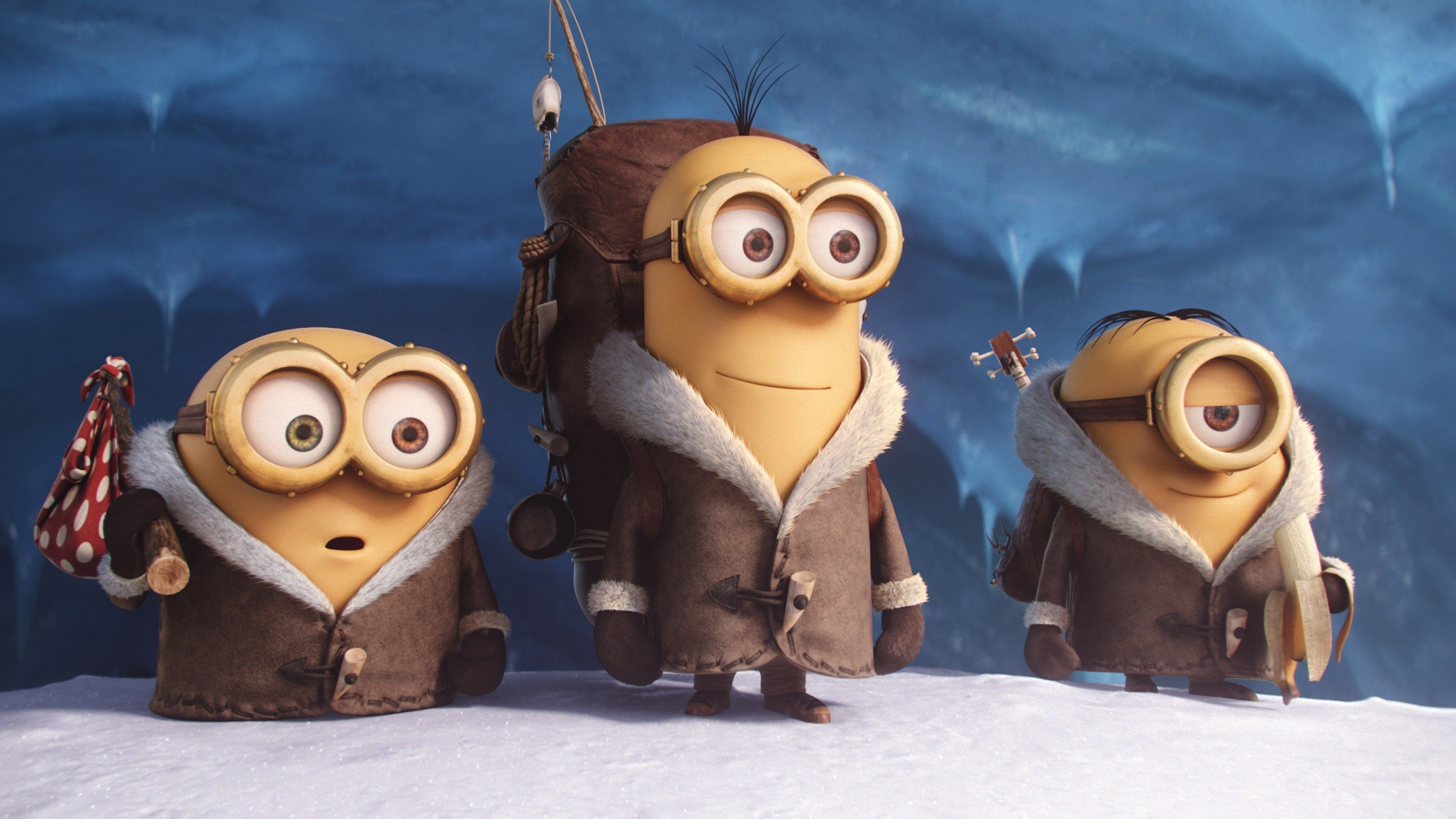 Res: 3840x2160,  minions 4k screensavers backgrounds