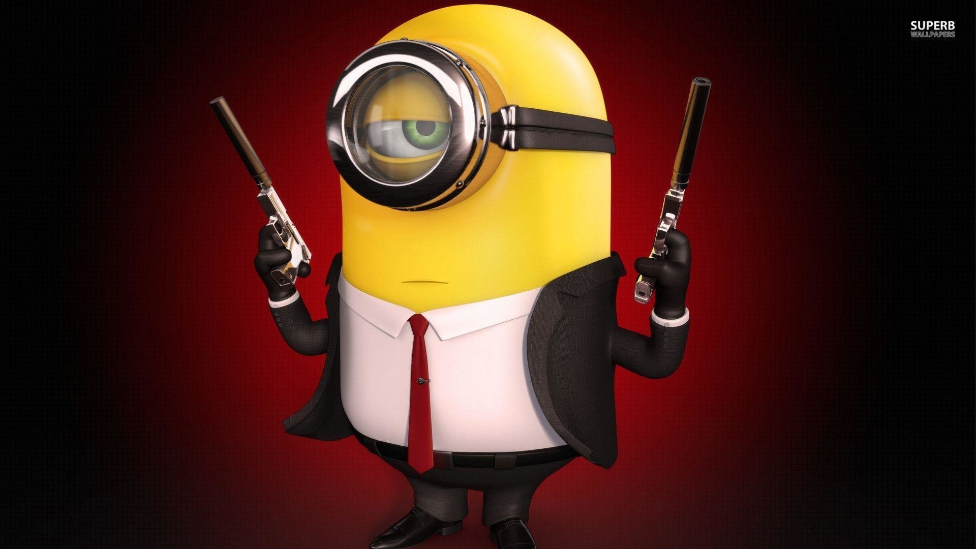 Res: 1920x1080,  Hitman minion wallpaper - Digital Art wallpapers - #