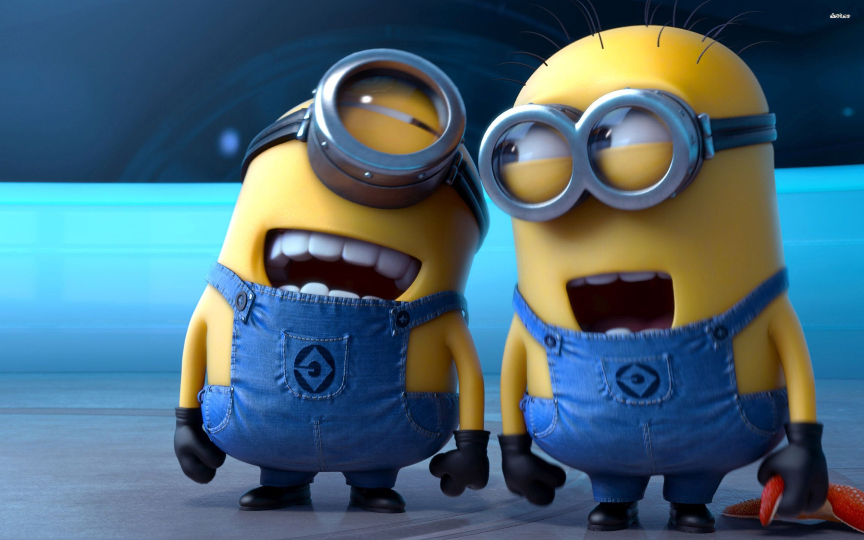 Res: 2880x1800, 28316-despicable-me-2-laughing-minions--cartoon-