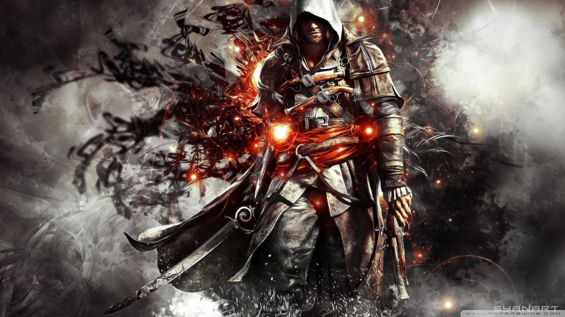 Res: 1920x1080, Assassin's creed IV dark power