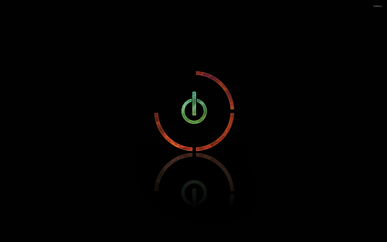 Res: 2880x1800, Power button wallpaper